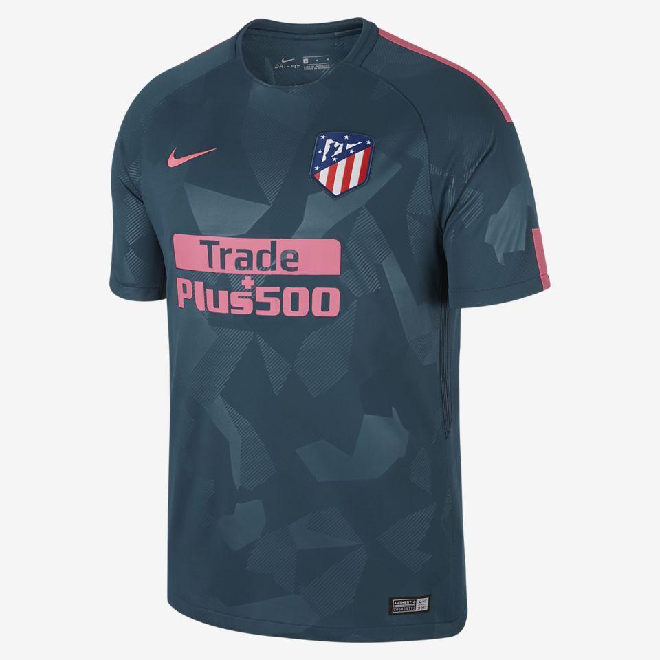 14e6e7b9 Atlético Madrid 2017/18 3rd Kit. Nike.com