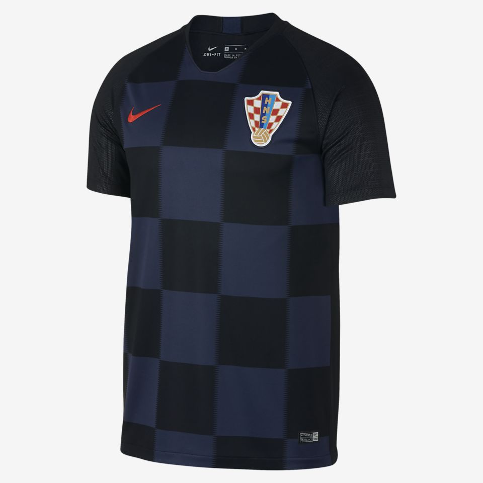 2018 Croatia Stadium Away Kit
