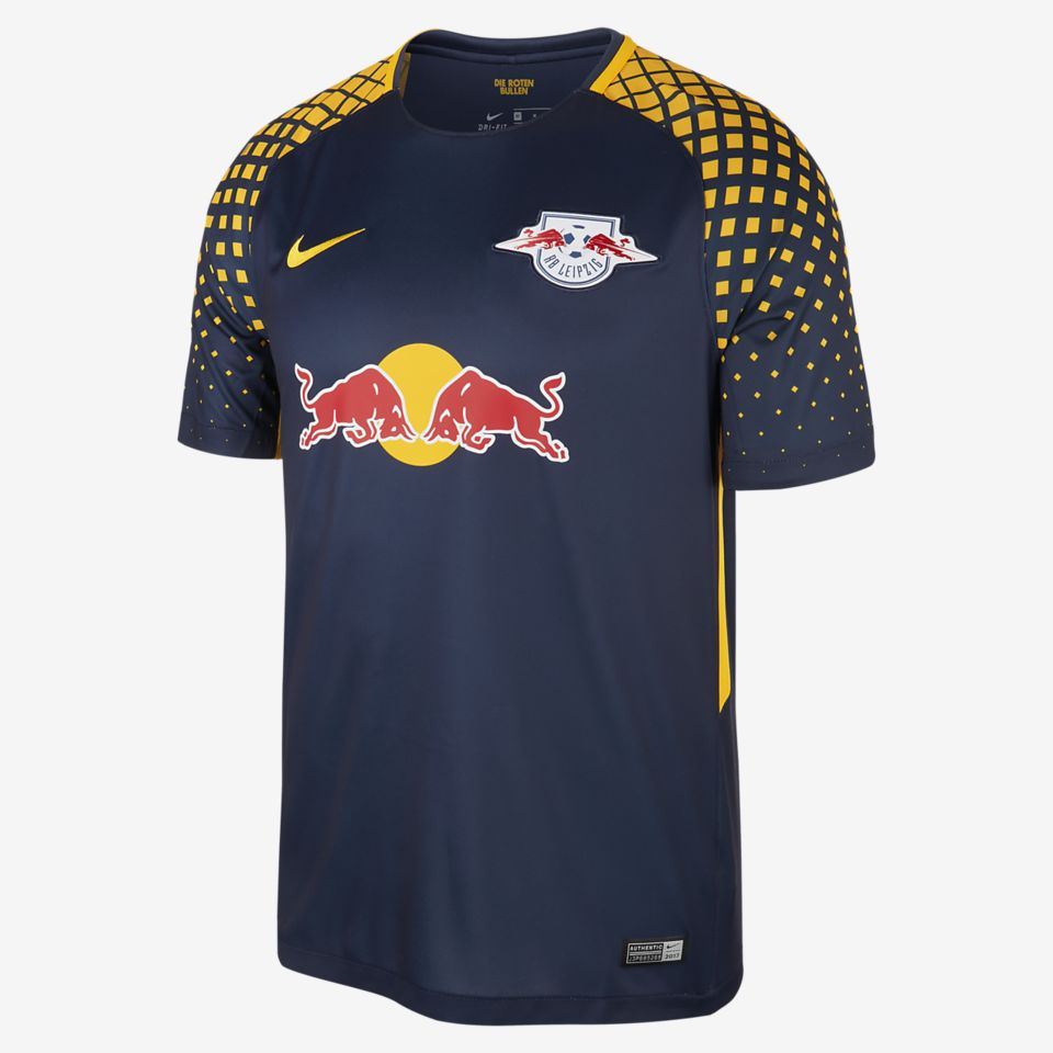 Kit de local del Red Bull Leipzig para la temporada 2017/18