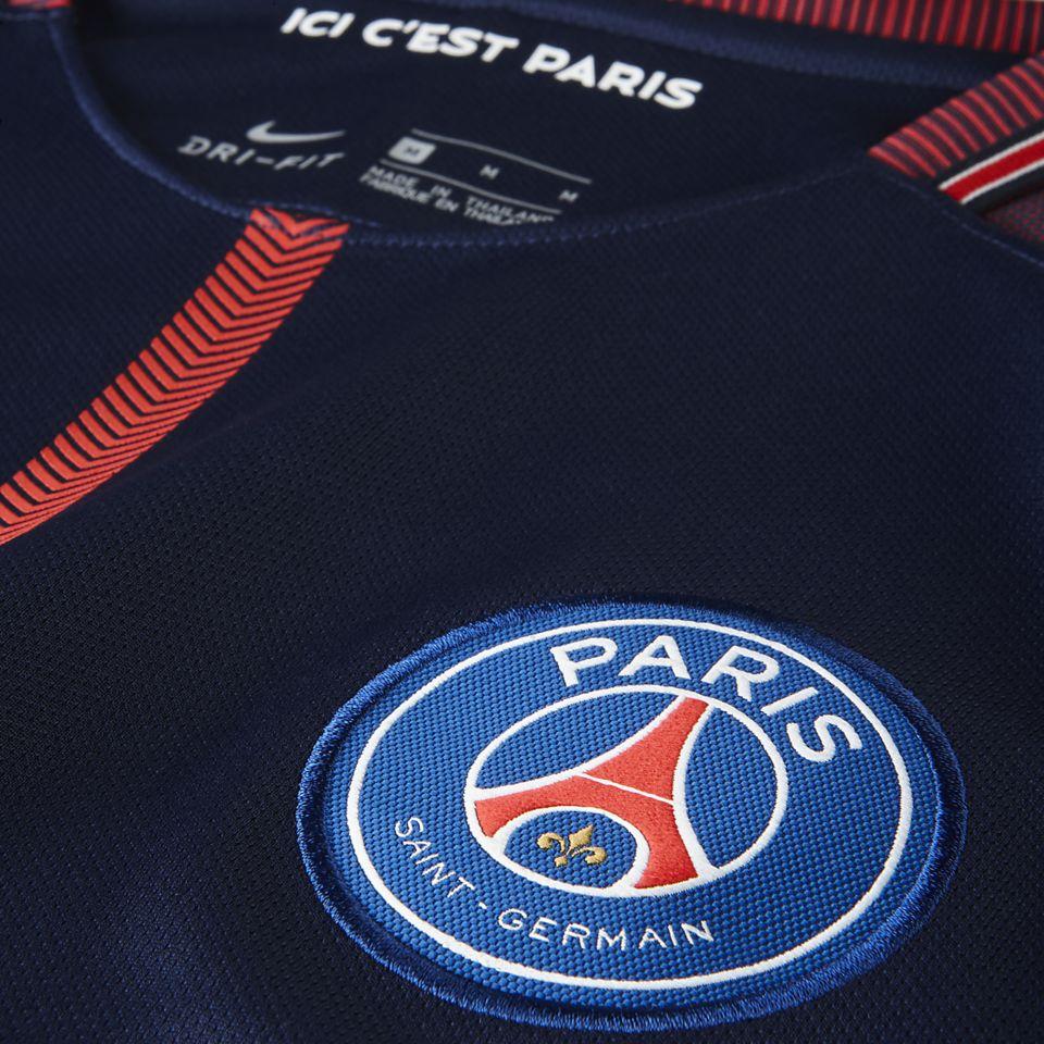 838d465d14e 2017-2018 Paris Saint-Germain Limited Edition Stadium Home Kit. Kylian  Mbappé