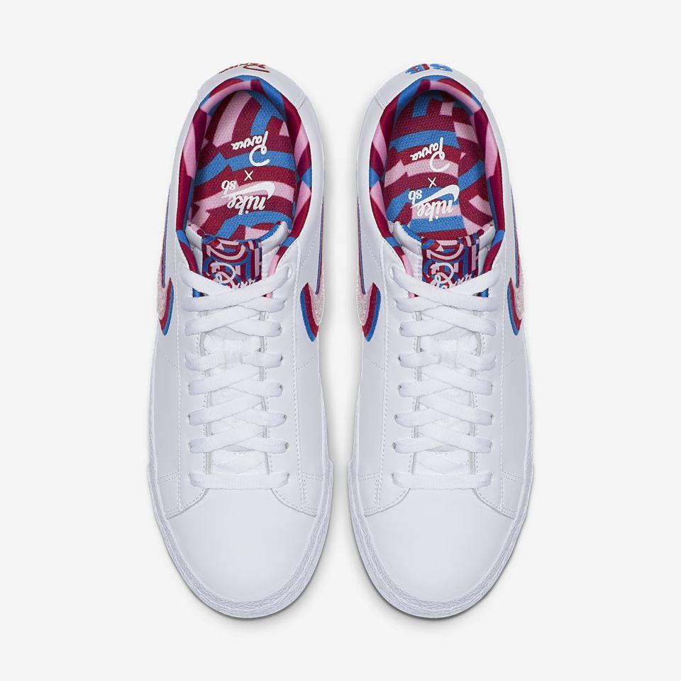Nike sb blazer low x parra