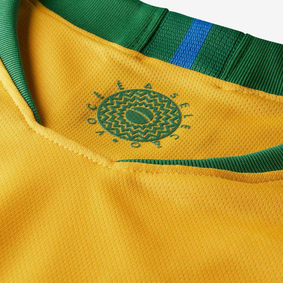 2018 Brasil Stadium Home Kit