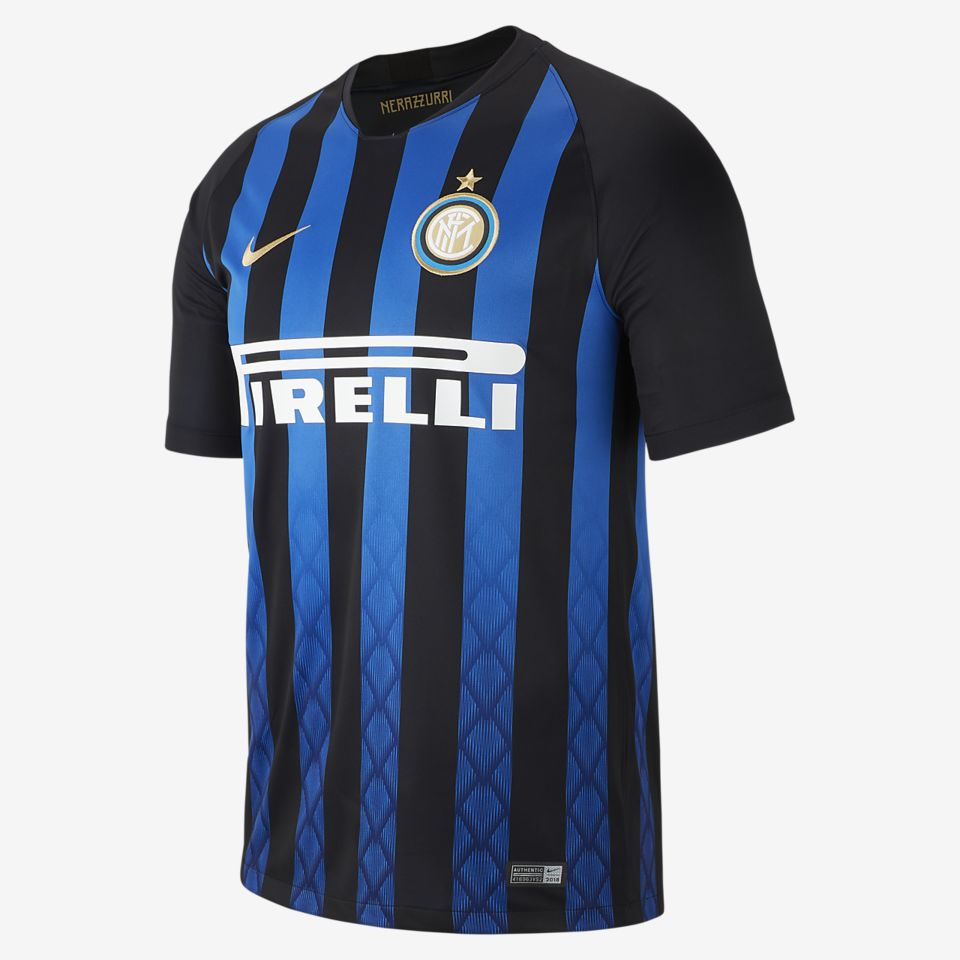 5220c621fed Men s Soccer Jersey. 2018 19 Inter Milan Stadium Home