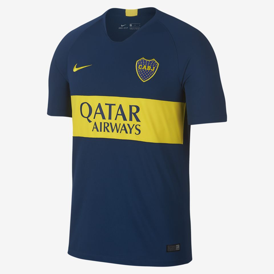 Boca Juniors Home Stadium Jersey
