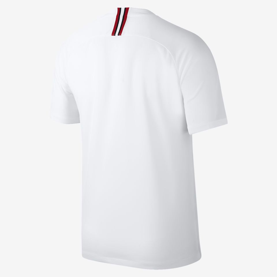 super popular 8b5c8 a41fa Jordan X Paris Saint-Germain 2018/2019 White kit. Nike.com GB