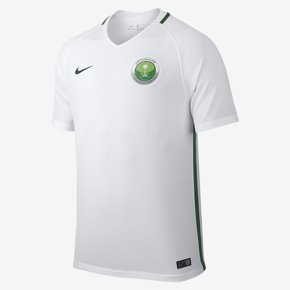 d9a90fea6 Saudi Arabia 2017 18 Home Kit. Nike.com IE