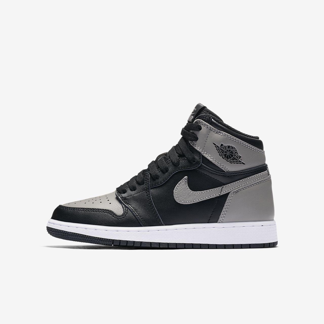 new arrival 4ac3d d916c Chaussures Nike Nike Nike Air Jordan I Retro High Premium Gs Ydtrry 040e2a