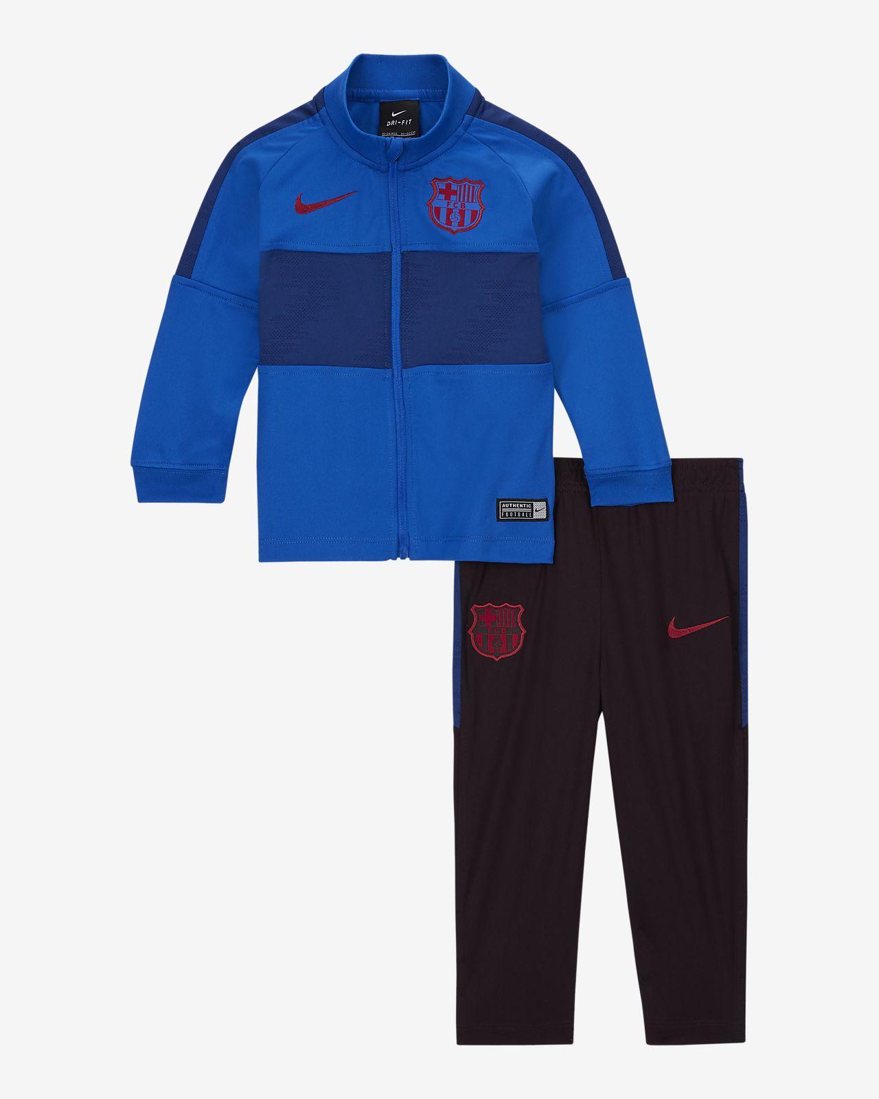 FC Barcelona Strike tracksuit til sped-/små barn