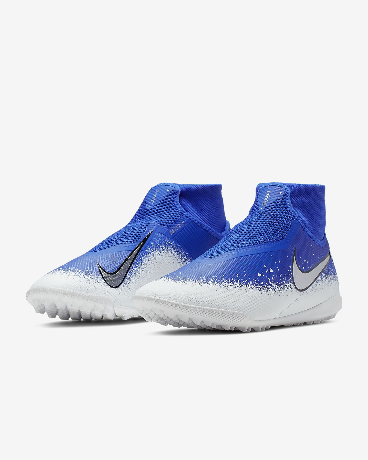 a894a2518 Nike React Phantom Vision Pro Dynamic Fit TF Turf Soccer Shoe. Nike.com