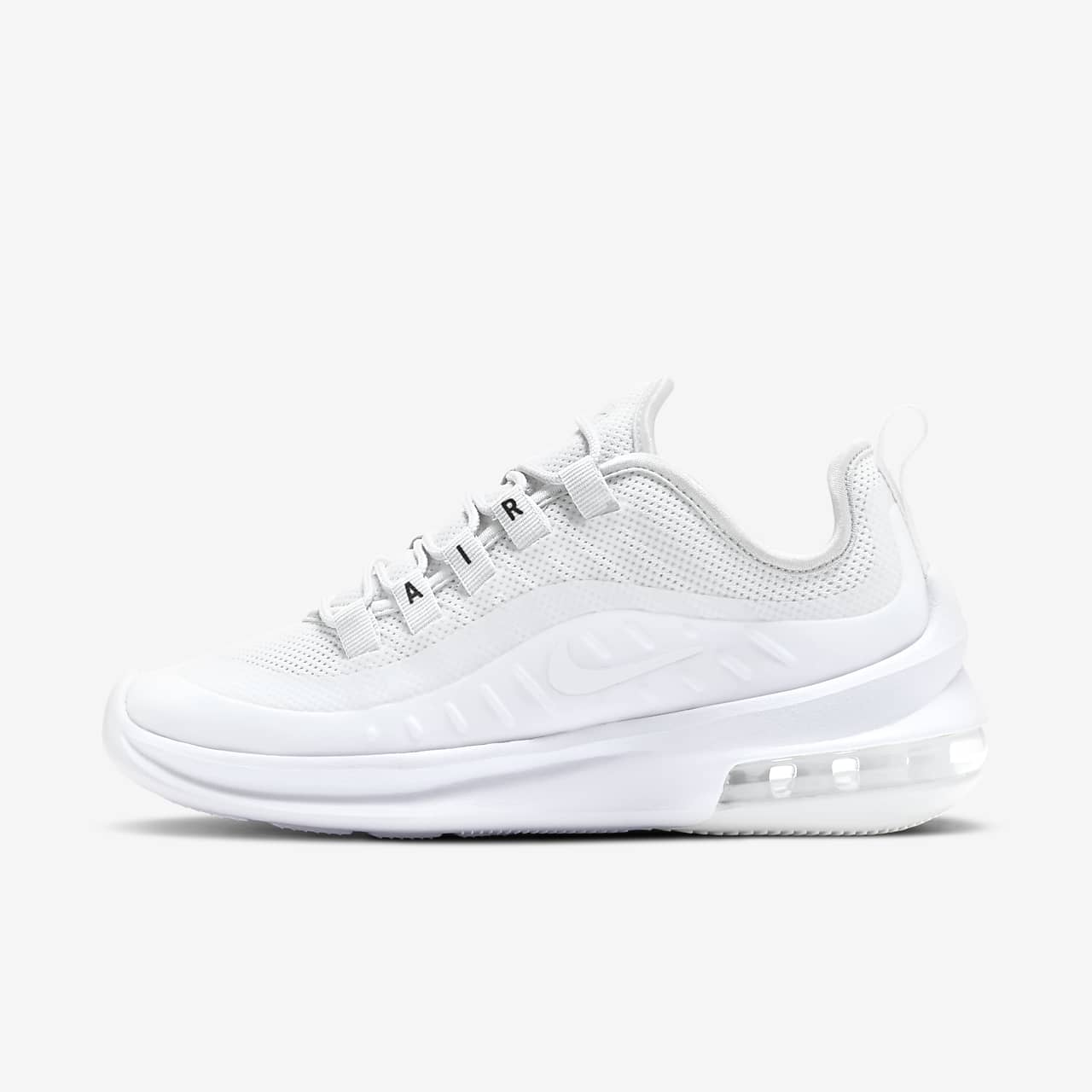 2019 Women's Nike Air Max Axis White Black For Sale AA2168 100