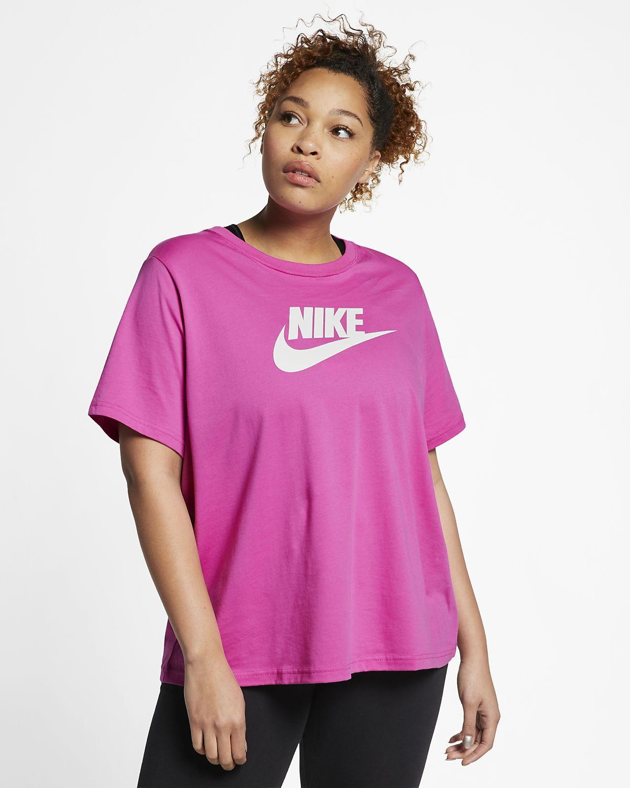 1c8d1c85d Nike Sportswear Essential Women's T-Shirt (Plus Size). Nike.com