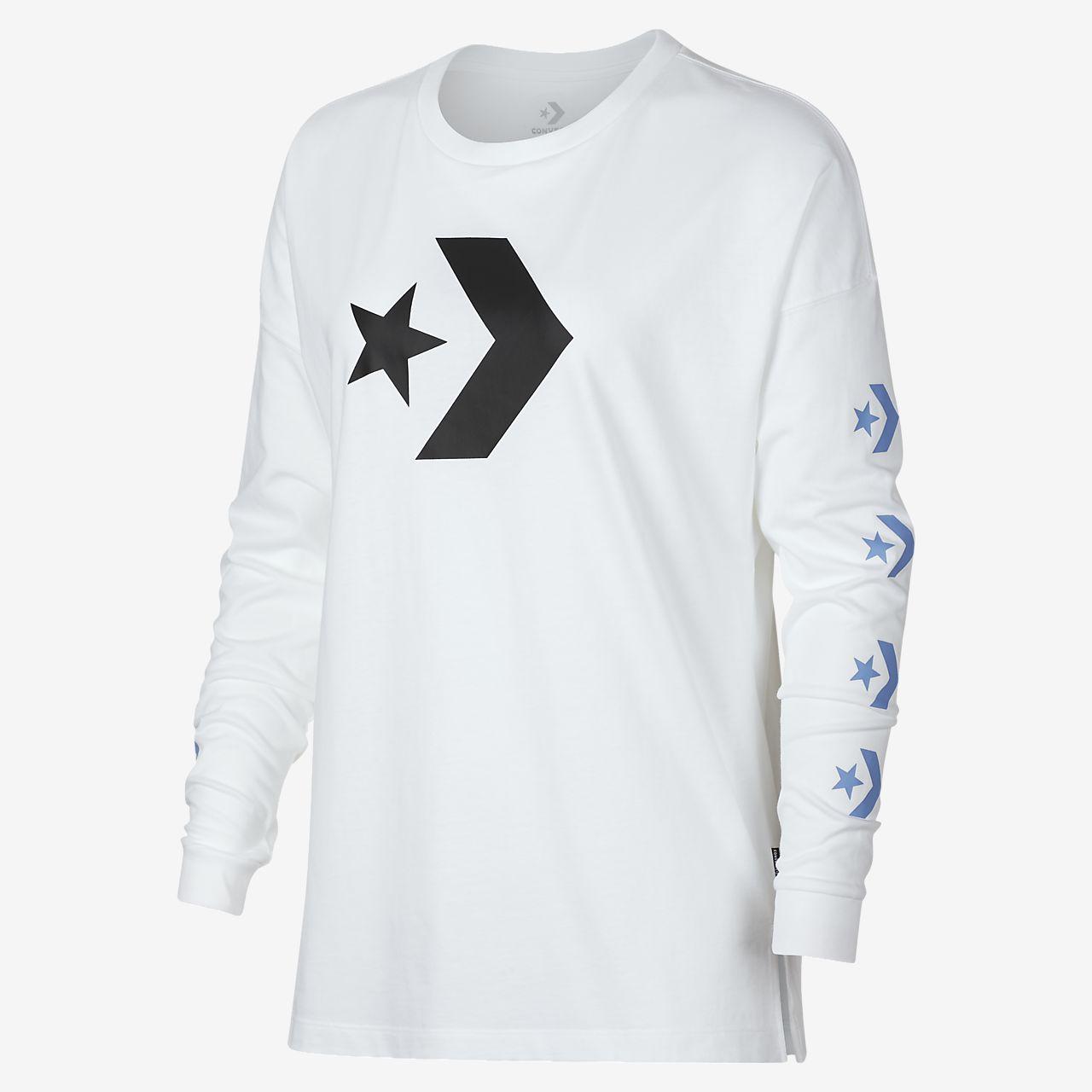 Converse Star Chevron Women's Long Sleeve T-Shirt