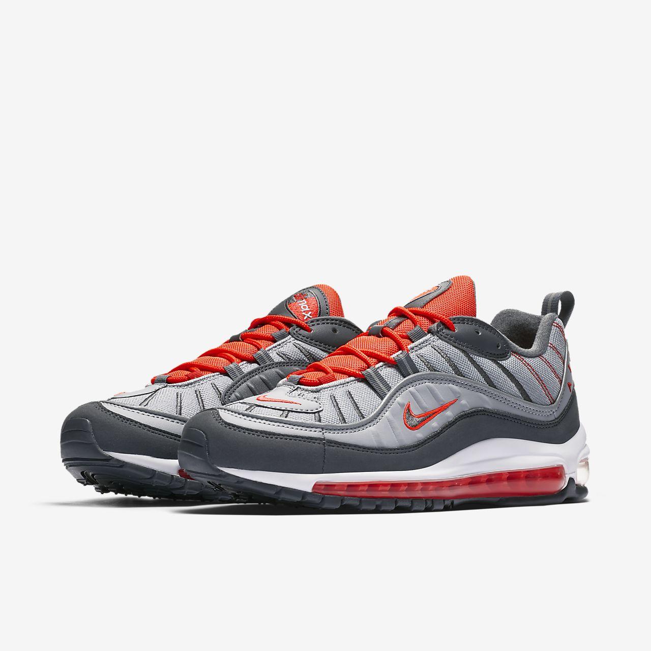 Nike Zapatillas de Material Sintético Para Hombre Gris Gris, Color Gris, Talla 42