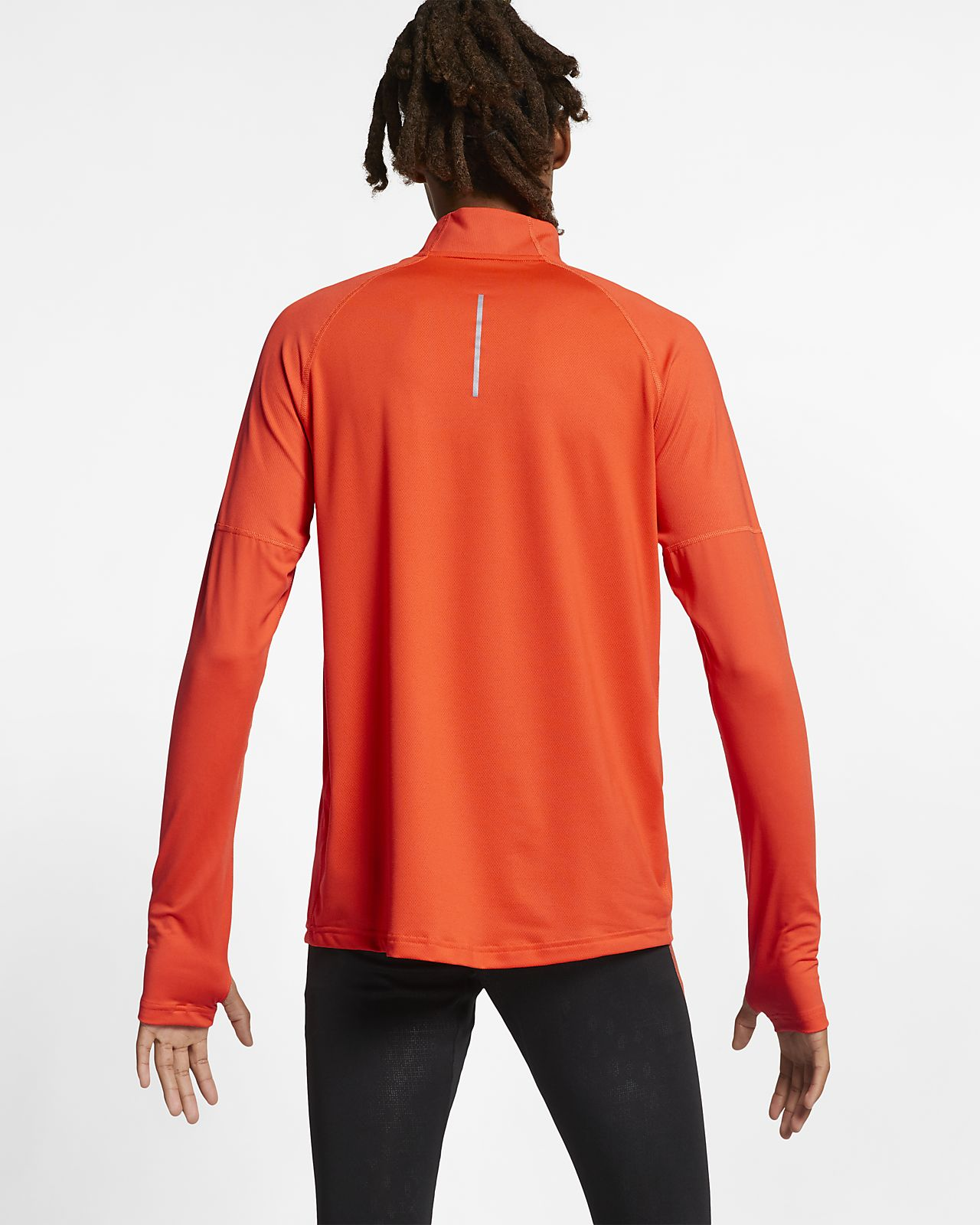 check out c53a8 483fd ... Nike Element Men s 1 2-Zip Running Top