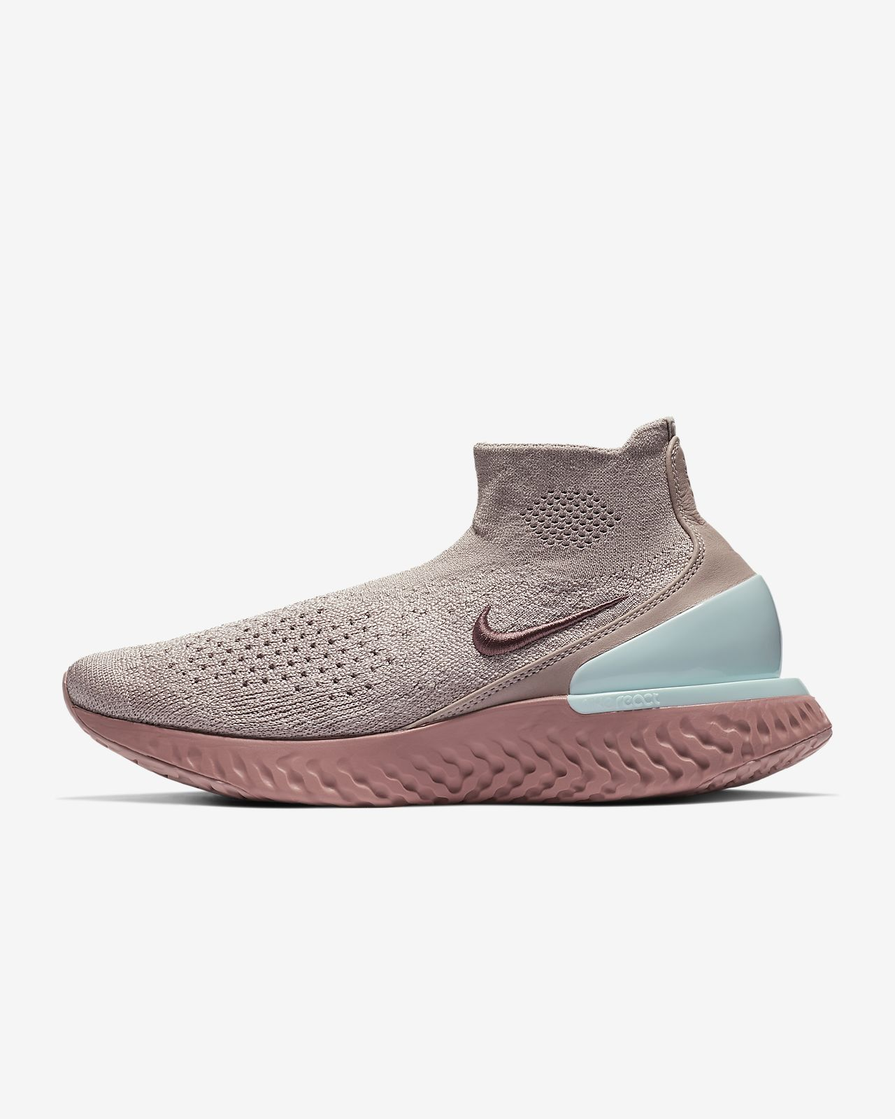 check out 5803a 845a6 Nike Rise React Flyknit
