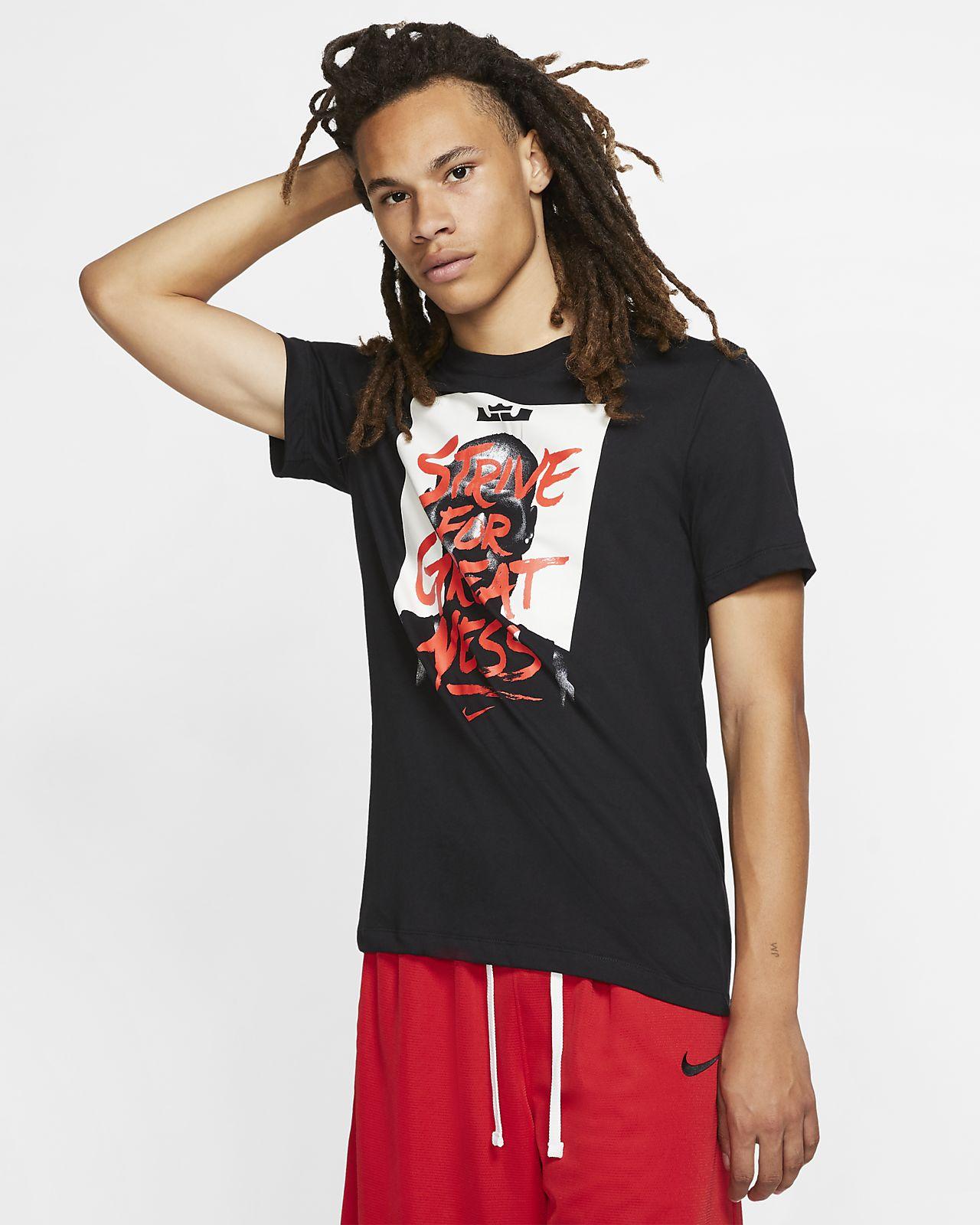 the best attitude e8993 9ccf2 ... T- LeBron Nike Dri-FIT