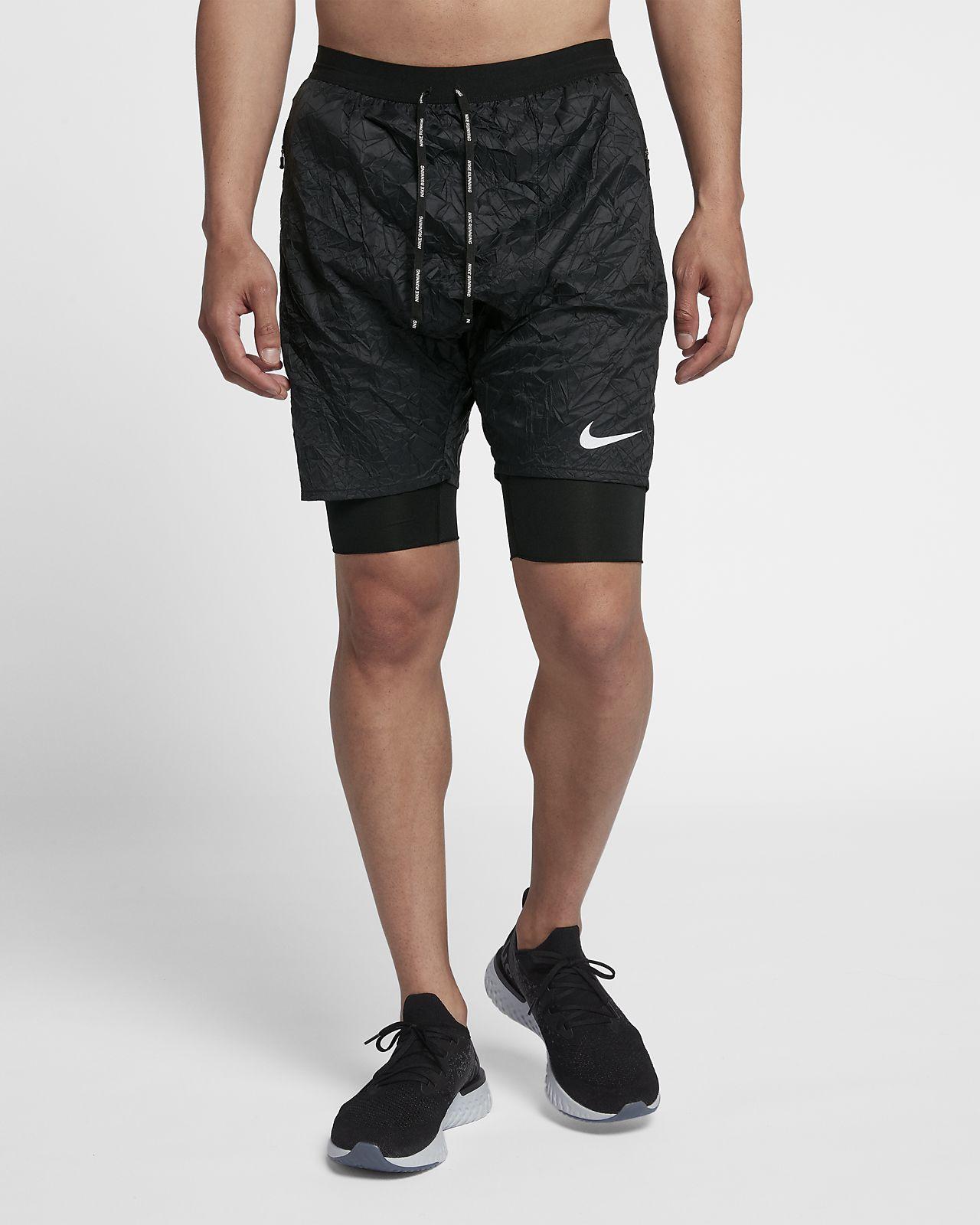 กางเกงวิ่งขาสั้นผู้ชาย Nike Flex Stride Elevate