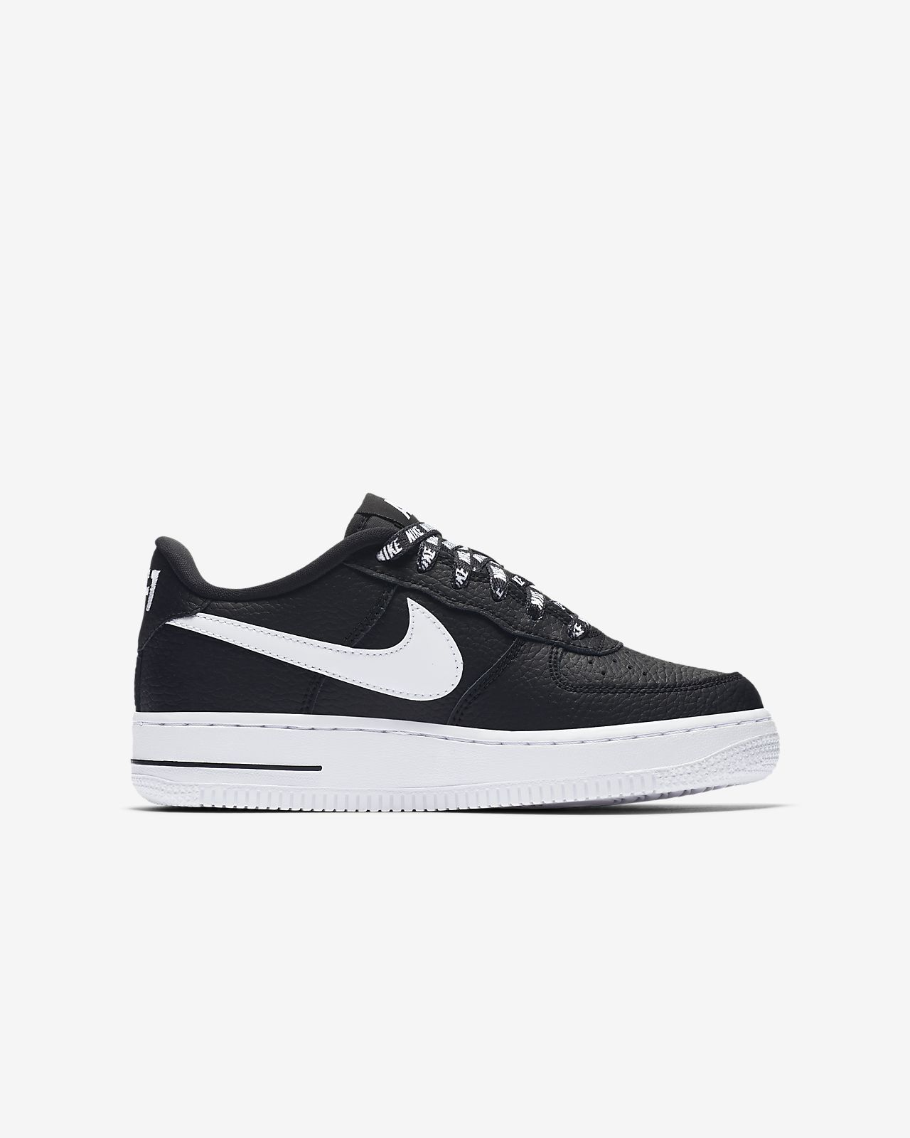 air force 1 bambino nere