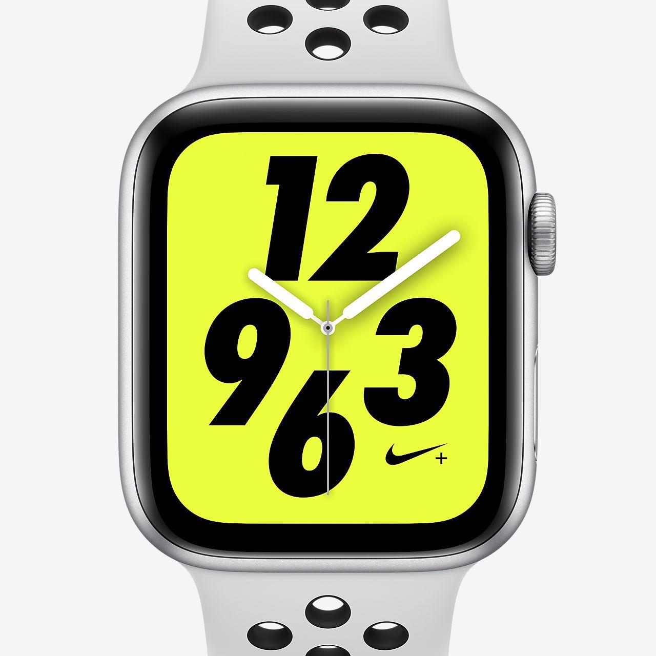 Apple Watch Nike+ Series 4 (GPS) mit Nike Sport Loop 44-mm-Sportuhr