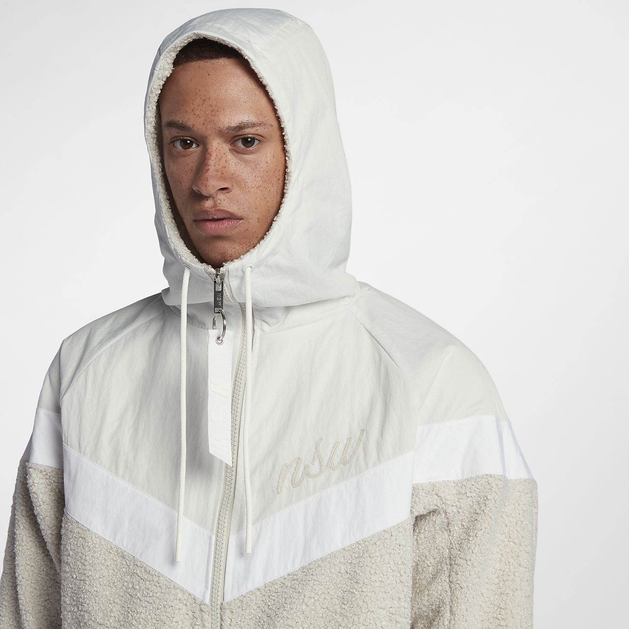 best site hot sales exquisite design Nike Sportswear NSW Sherpa Windrunner Men's Jacket