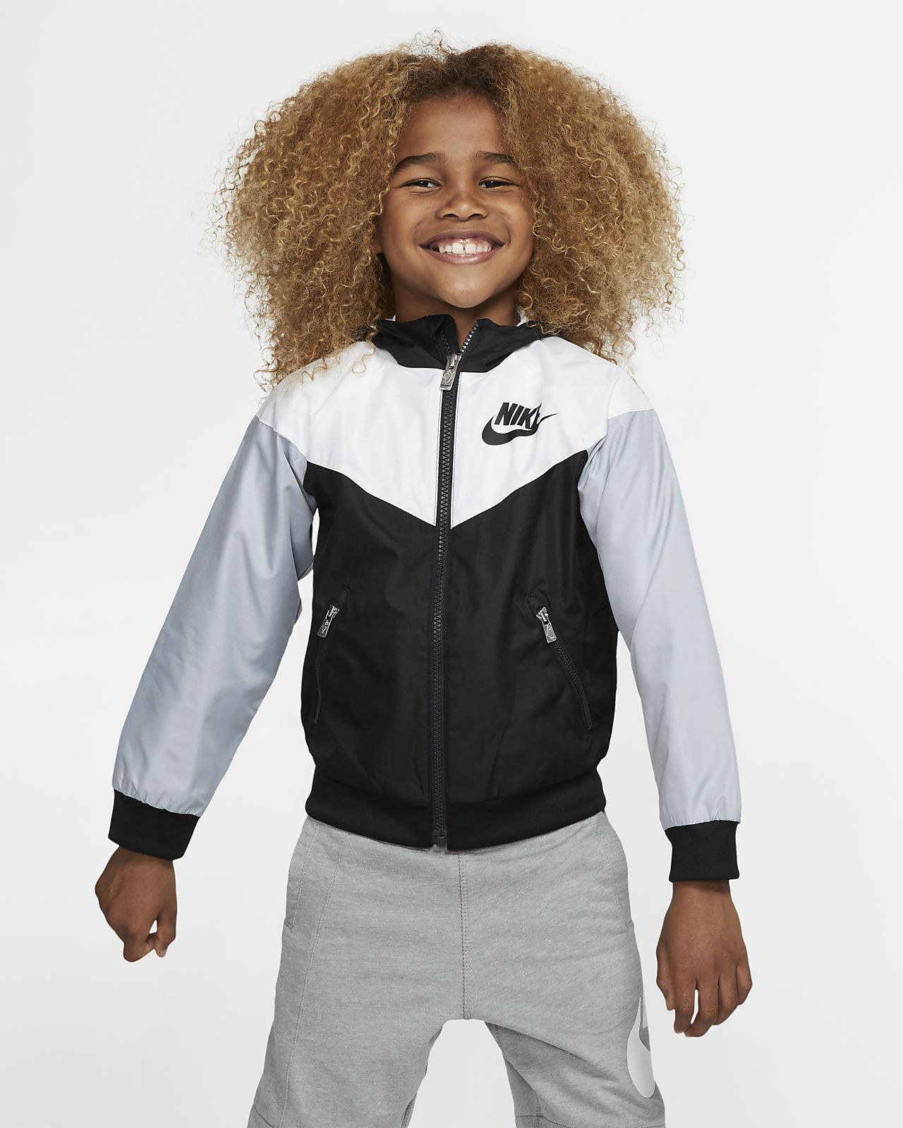 78d21b9eac45 Nike Sportswear Windrunner Little Kids  Jacket. Nike.com