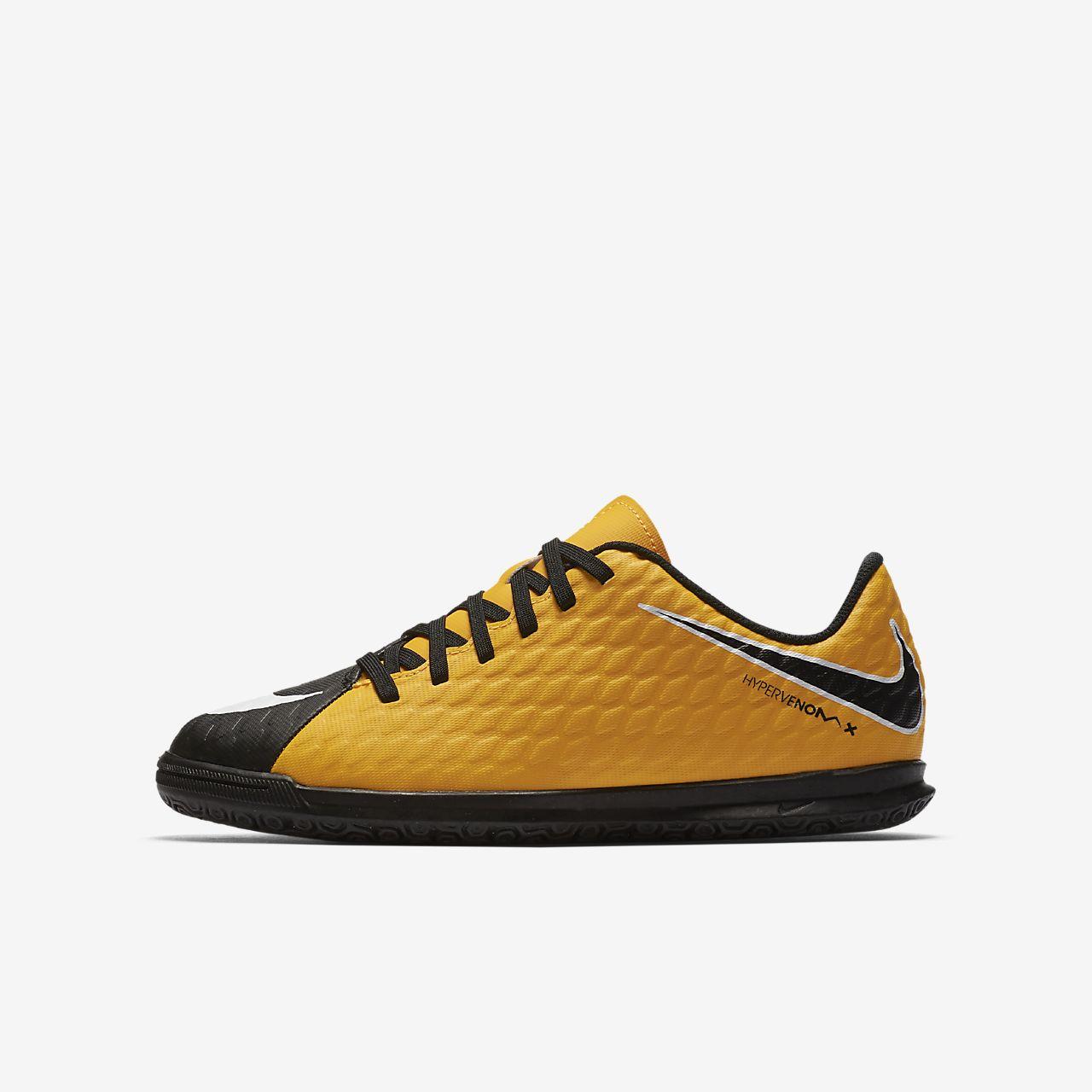Nike Jr. HypervenomX Phade 3 Botas de fútbol sala - Niño/a y niño/a pequeño/a