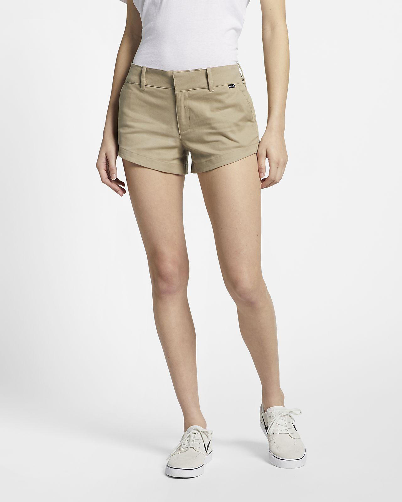Chino Korte Broek Dames.Hurley Lowrider Chinoshorts Voor Dames Nike Com Nl