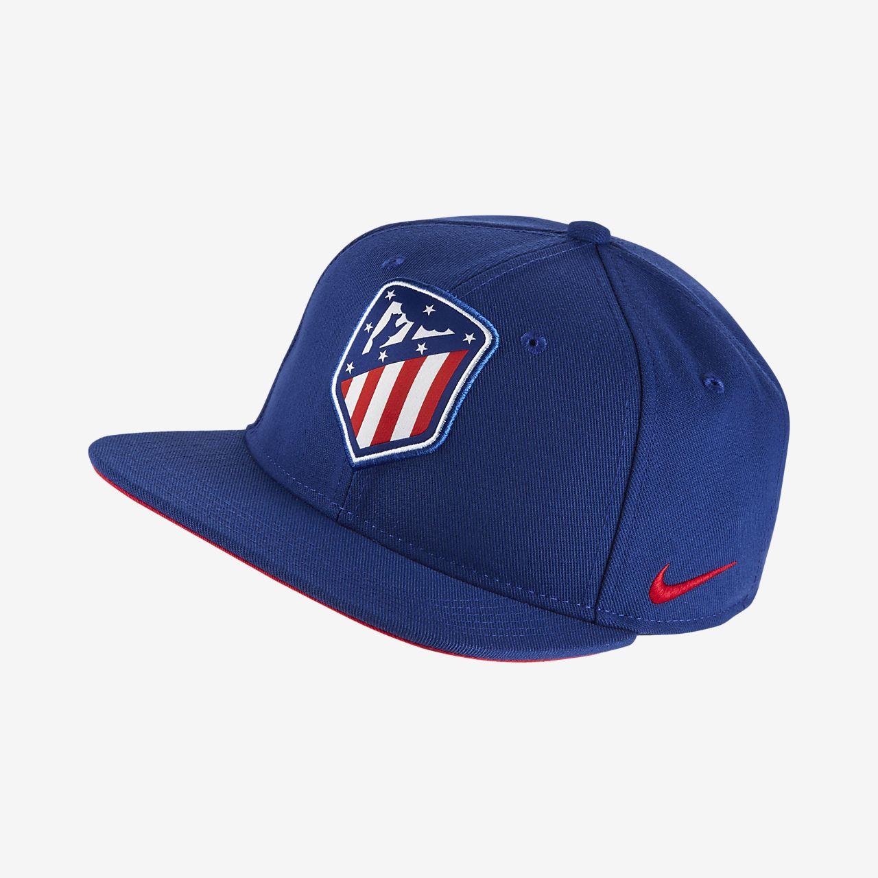 Gorra ajustable para niños talla grande Nike Pro Atlético de Madrid