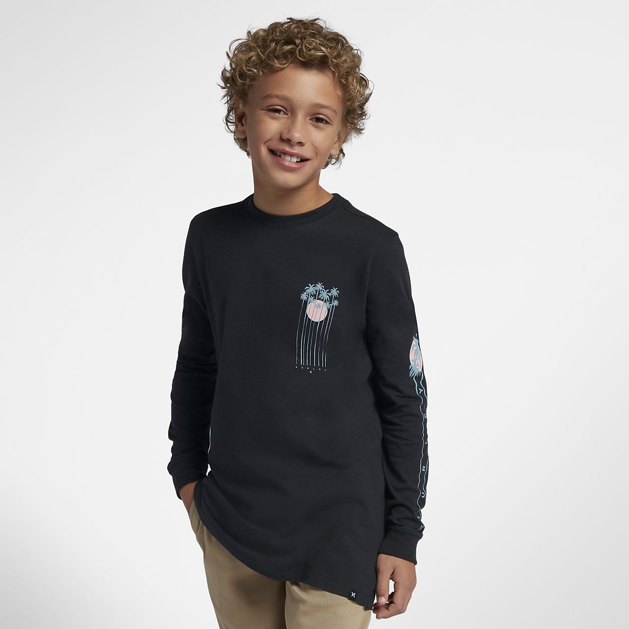 Hurley Premium Hidden Palms Boys' T-Shirt