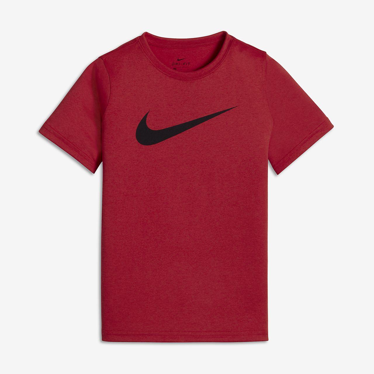 Nike Dri-FIT Big Kids' (Boys') Training T-Shirt. Nike.com