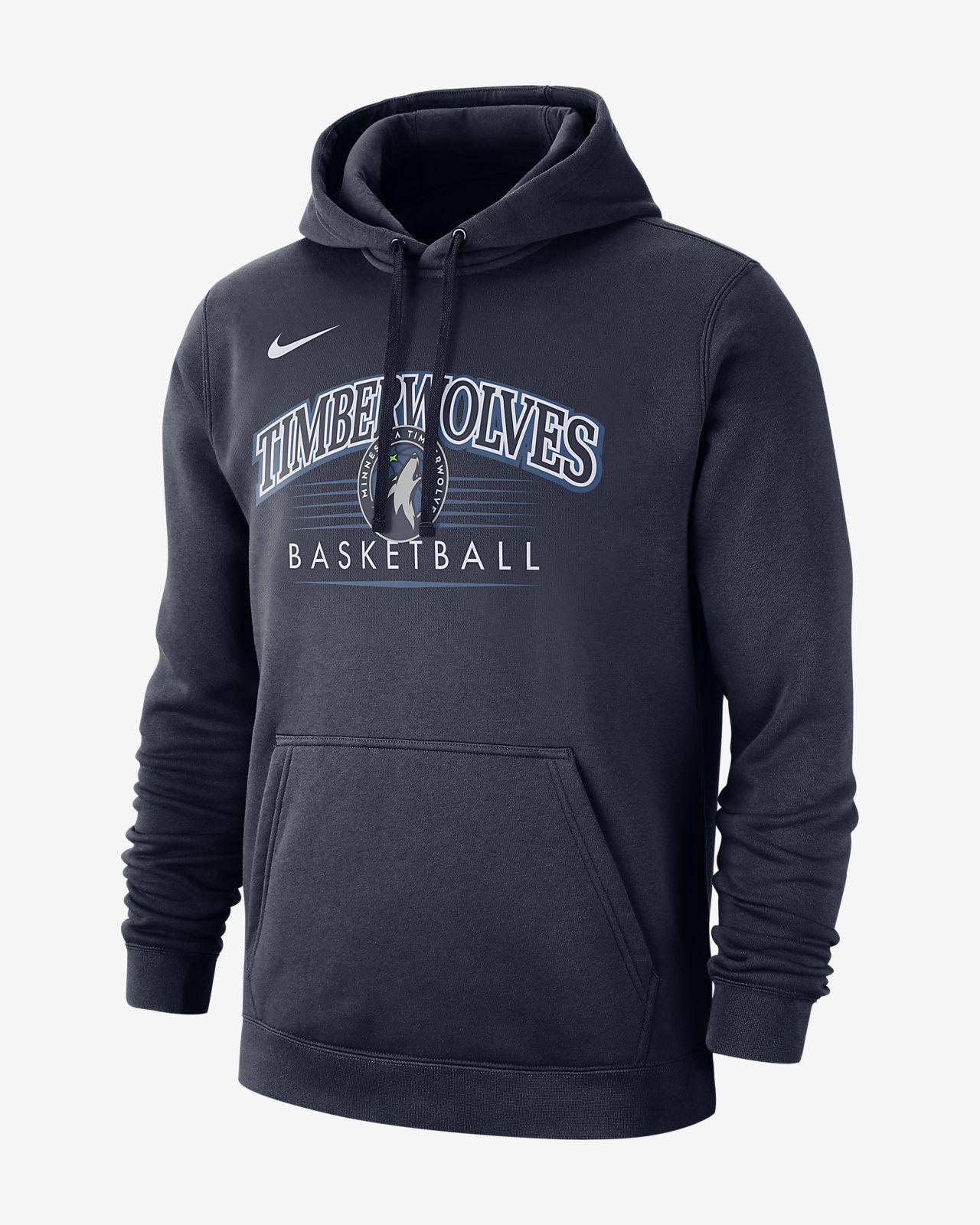 Męska bluza z kapturem NBA Minnesota Timberwolves Nike