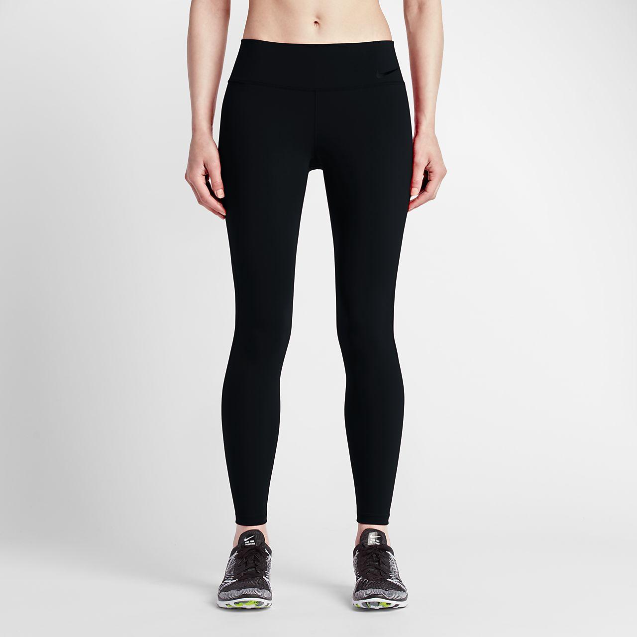 Nike Power Legendary Women's Mid Rise Training Tights Black