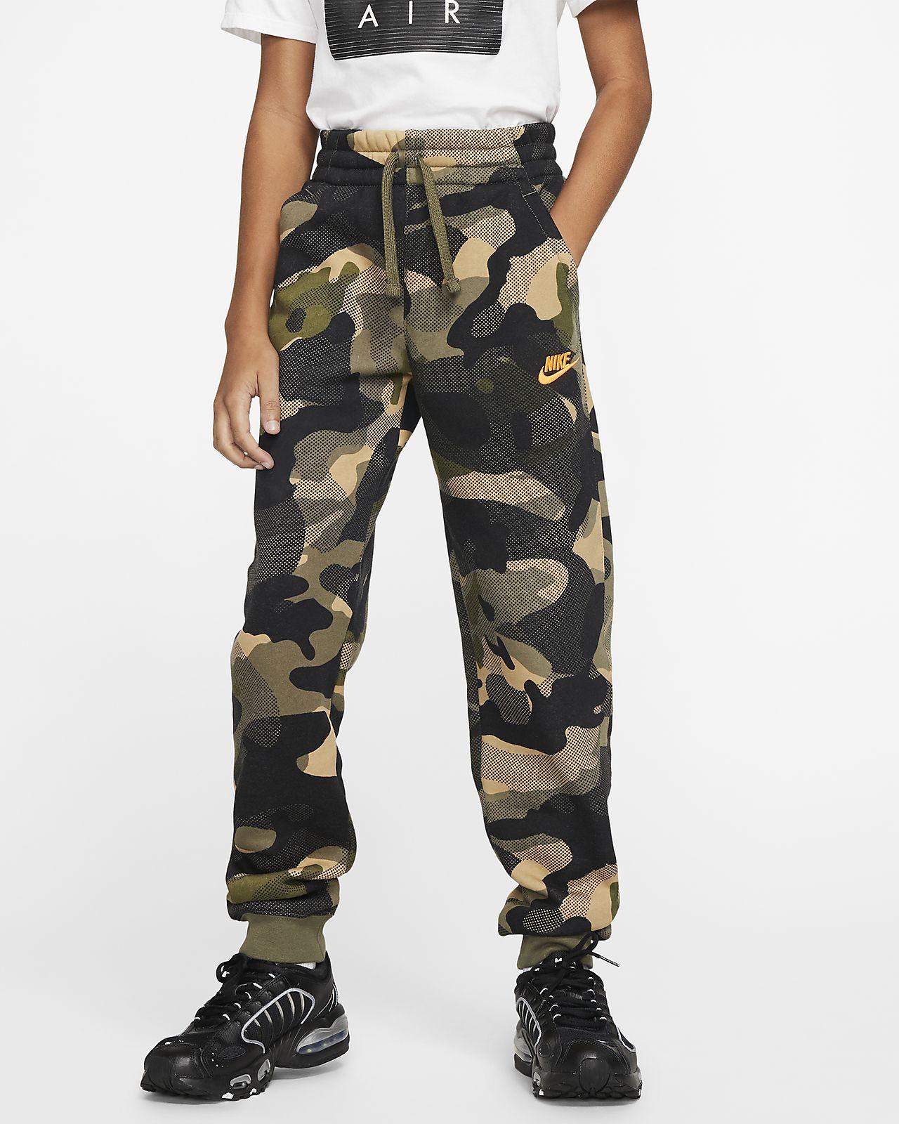 Nike Sportswear Club Big Kids' (Boys') Camo Joggers