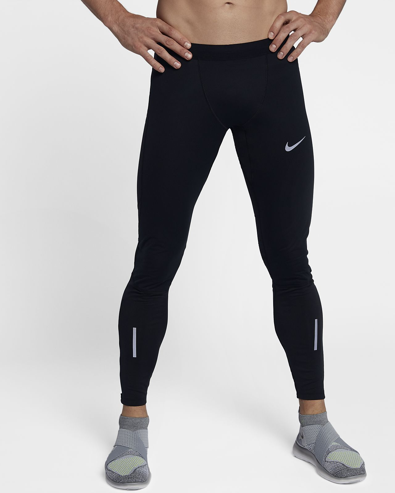 buy online 631bf a7704 ... Mallas de running de 76,5 cm para hombre Nike Shield Tech