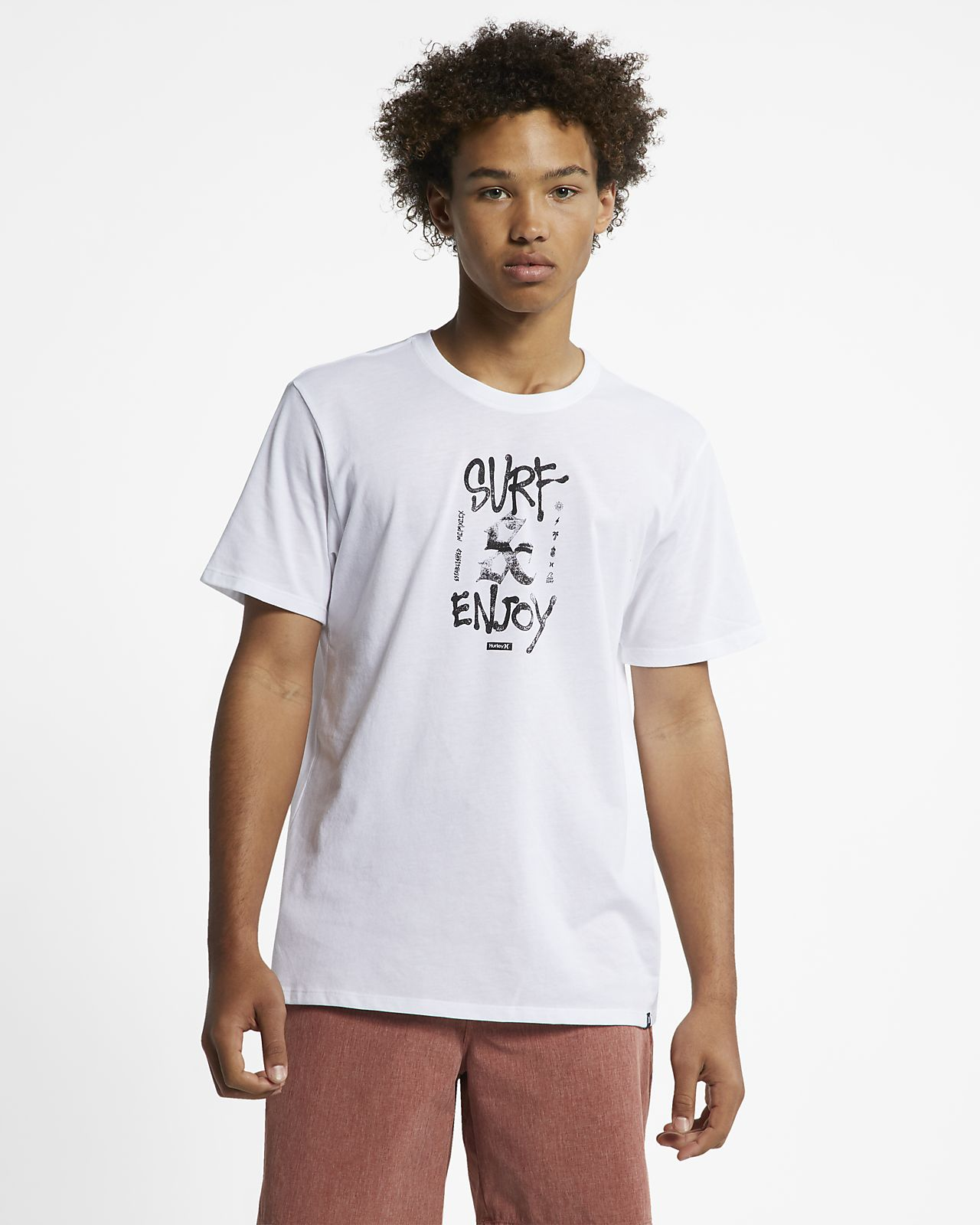 Hurley Dri-FIT Surf And Enjoy Men's T-Shirt
