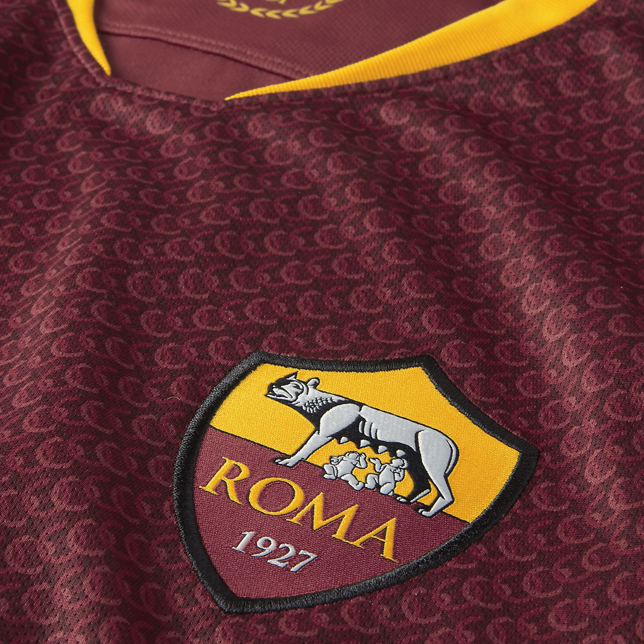 2c5a6f65a4b 2018/19 A.S. Roma Stadium Home Men's Football Shirt. Nike.com NO