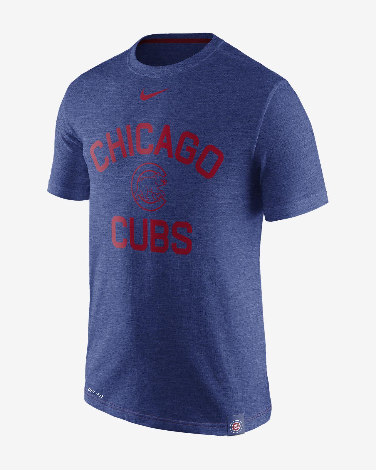 3162cbb144498 Nike Dri-FIT (MLB Cubs) Men s T-Shirt. Nike.com