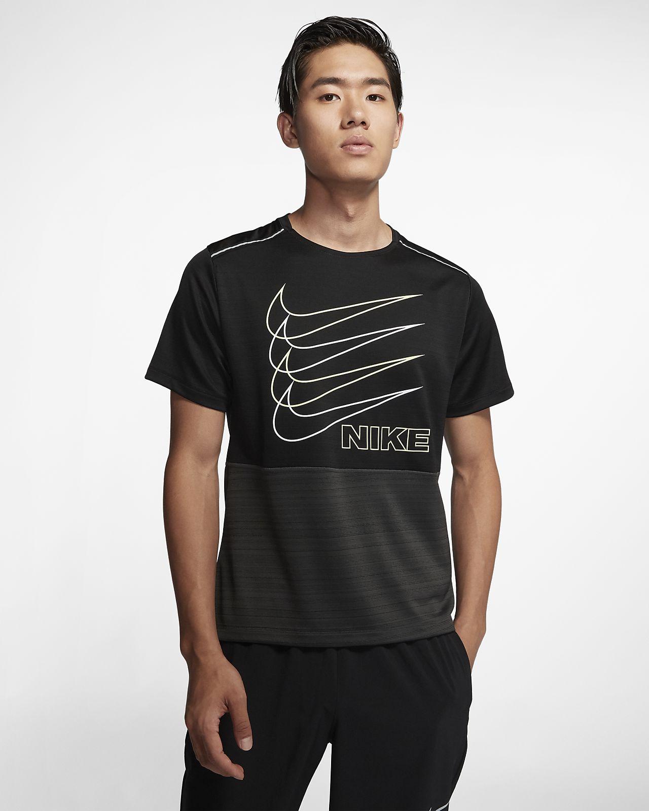 Nike Dri-FIT Miler 男款短袖跑步上衣