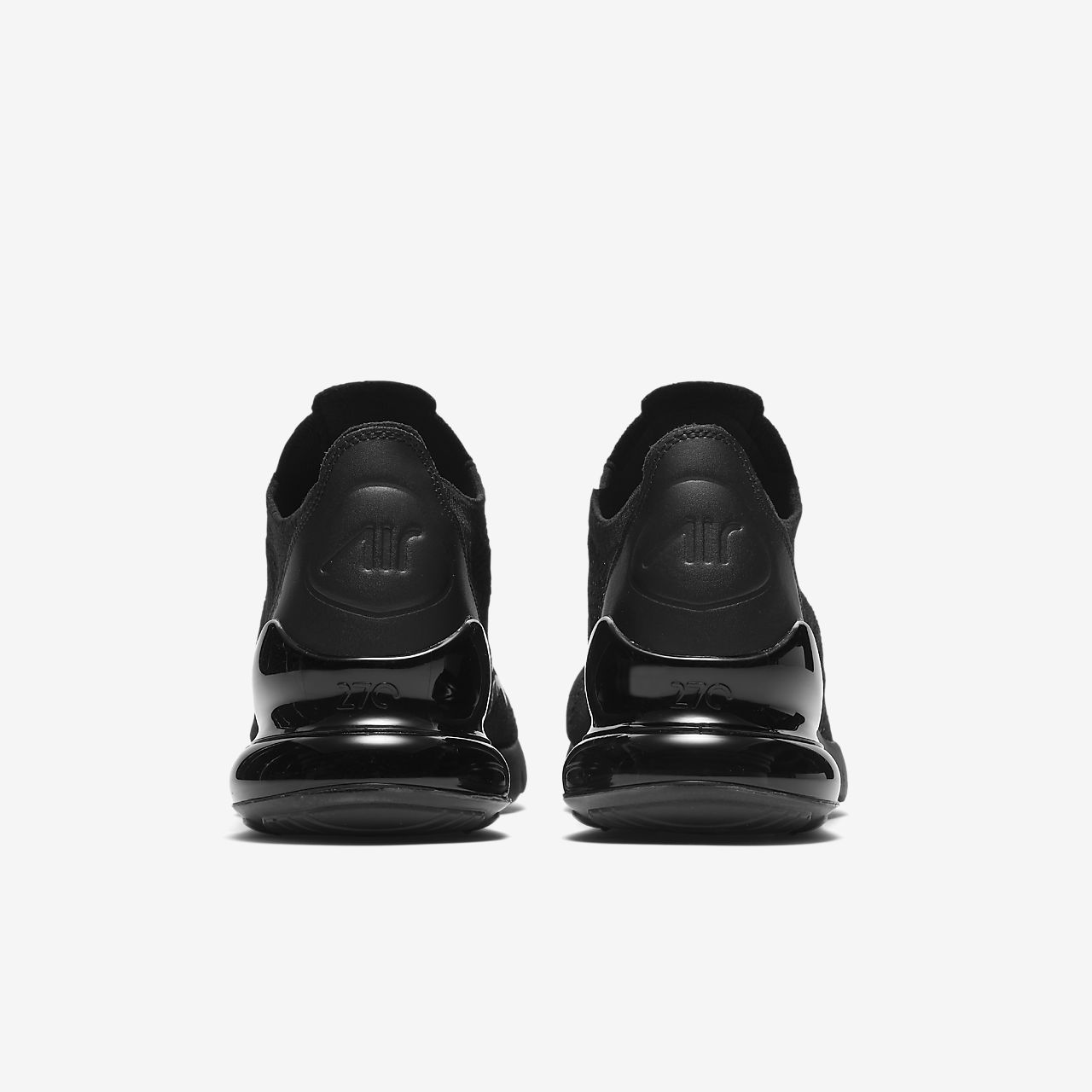 Nike Air Max 270 Flyknit Triple Black AO1023 005 Release