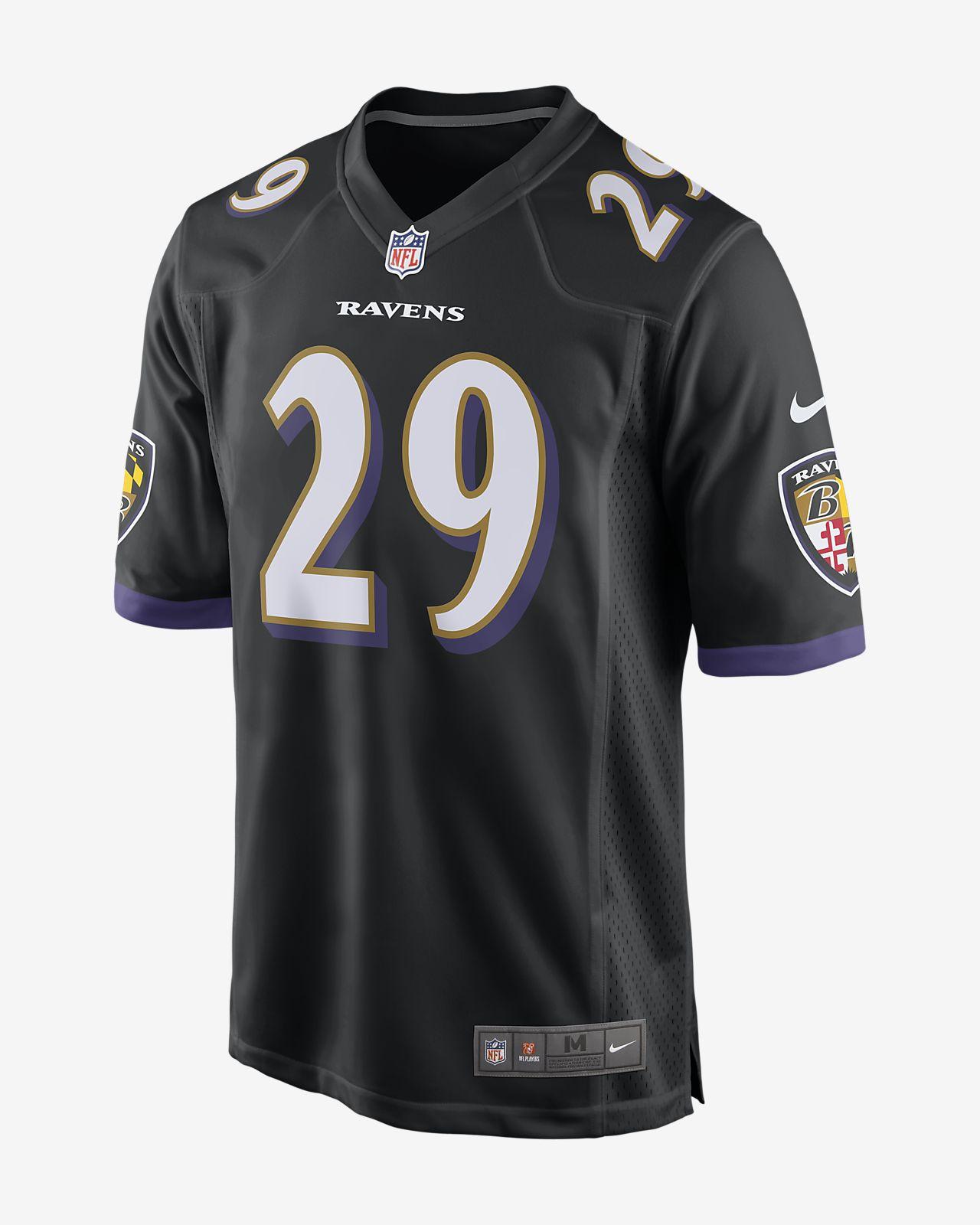 NFL Baltimore Ravens (Earl Thomas) Men's Game Football Jersey