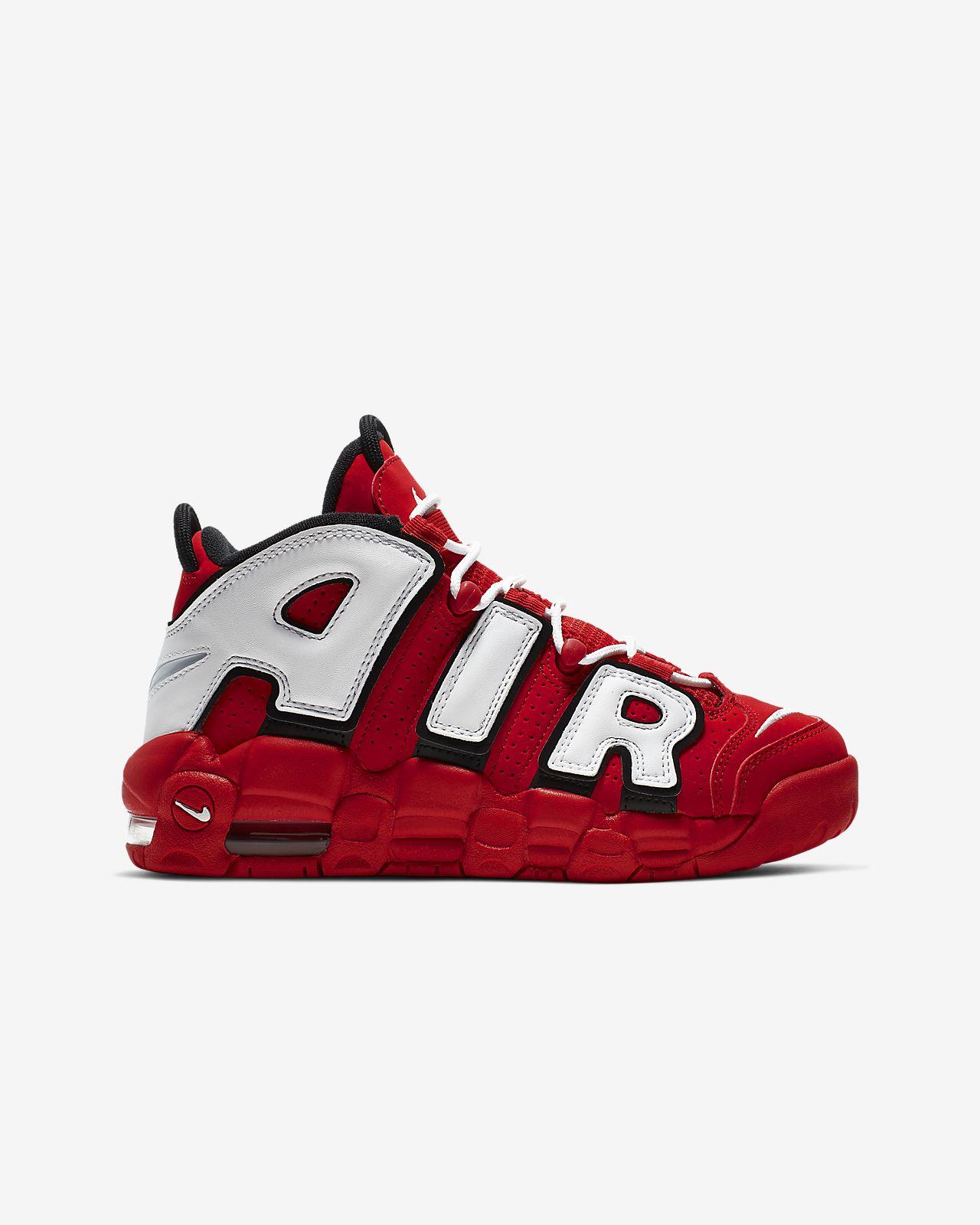 reputable site 6db76 d06bb ... Nike Air More Uptempo QS Big Kids  Shoe
