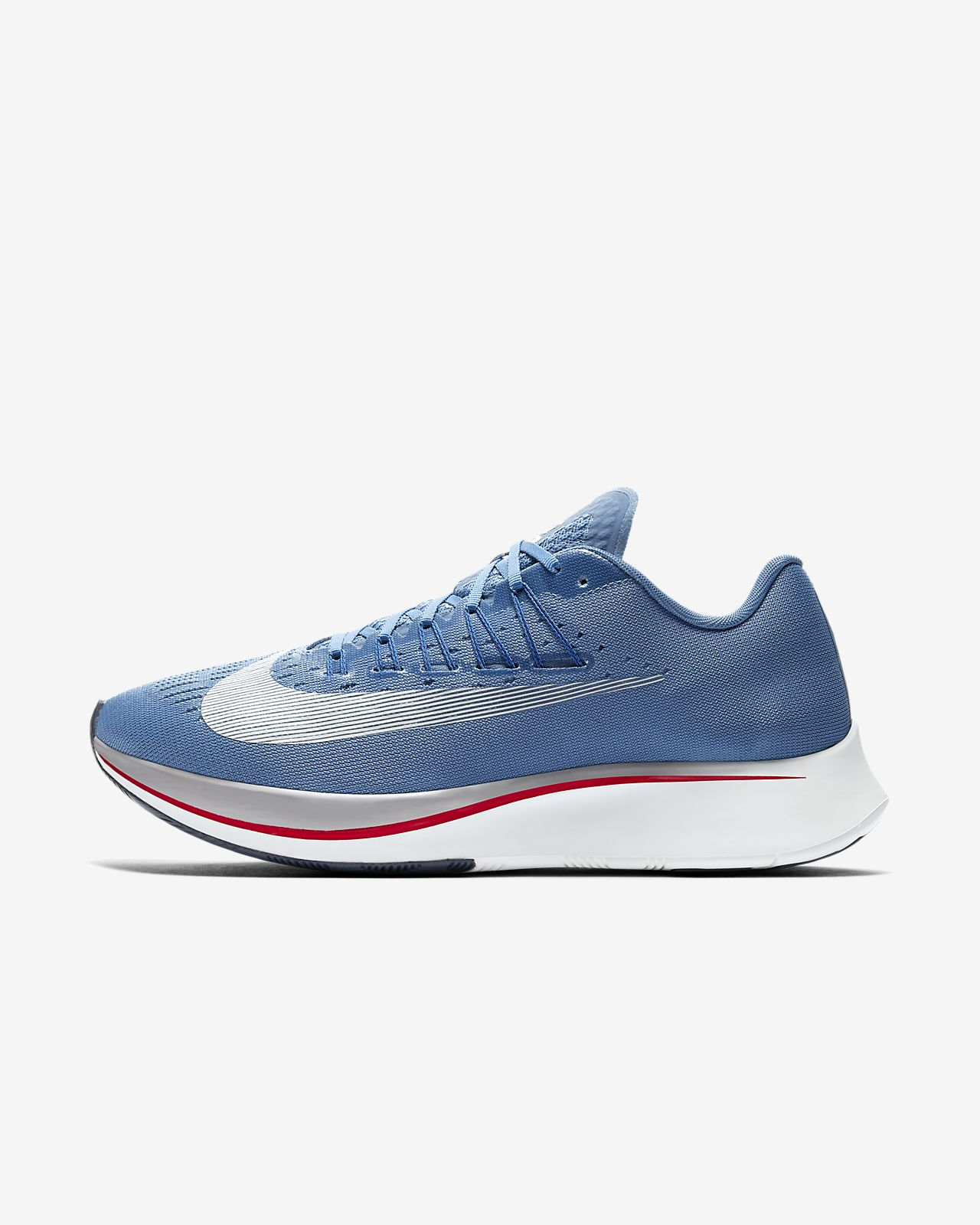 NIKE Chaussures de Running Zoom Fly - Homme - Bleu
