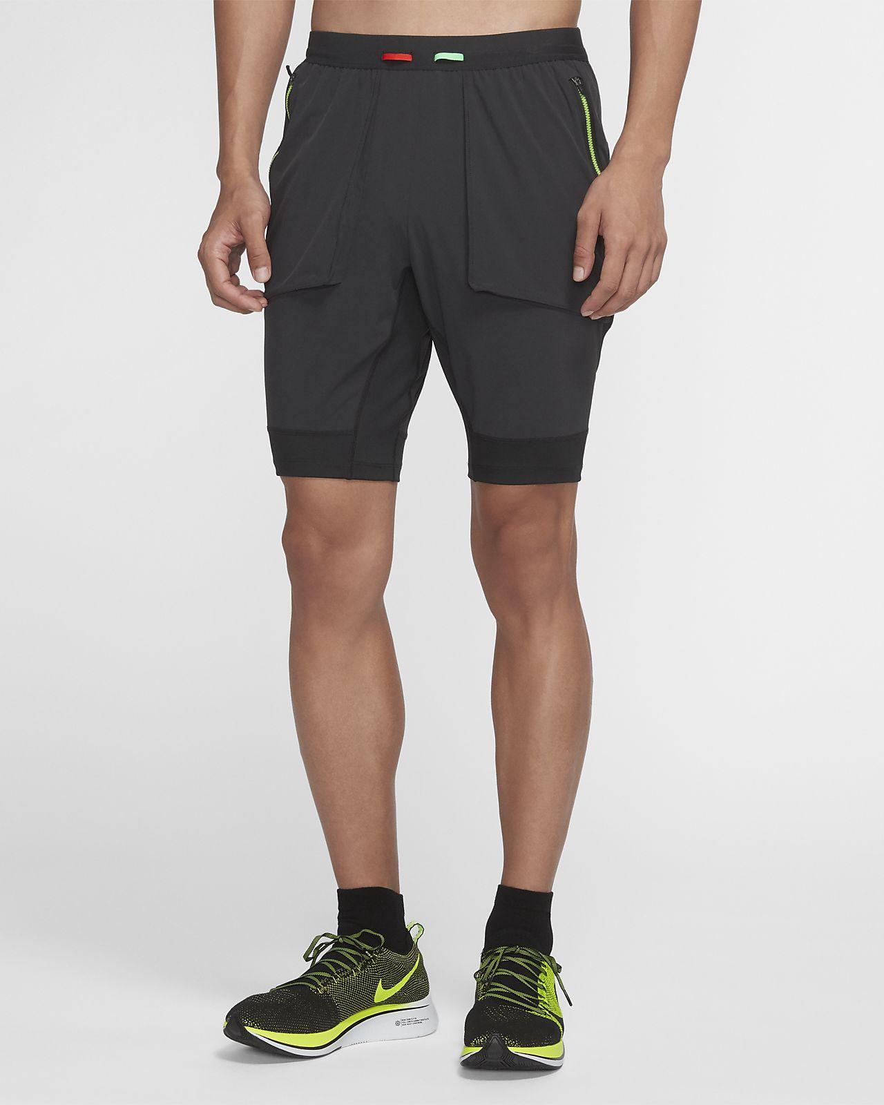 Nike 男款 Hybrid 跑步短褲