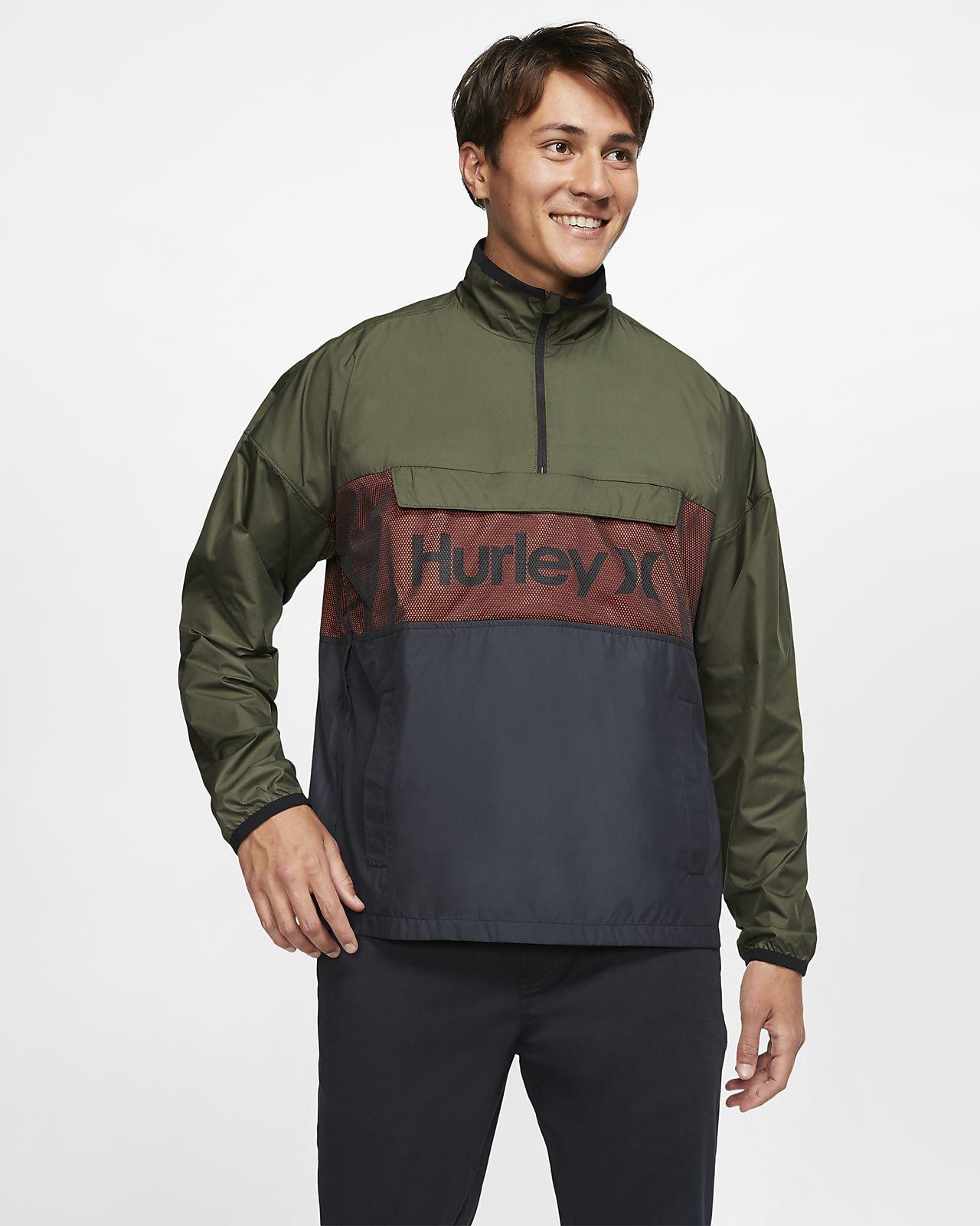 Hurley Siege Anorak-jakke til mænd