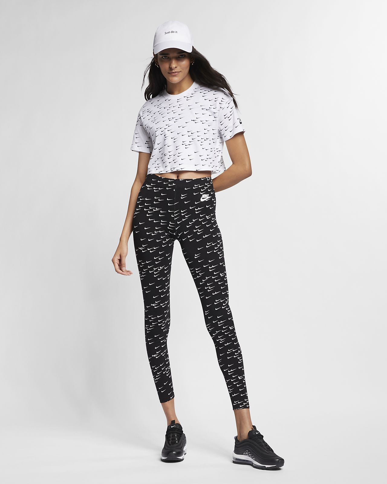 2ca50753252 Nike Sportswear Essential Women's Short-Sleeve Crop Top. Nike.com