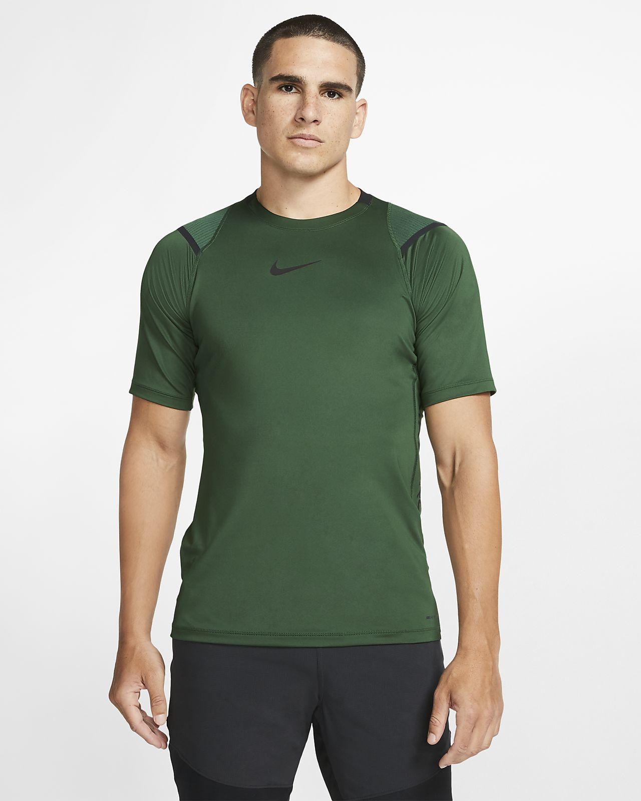 Nike Pro AeroAdapt kortermet overdel til herre