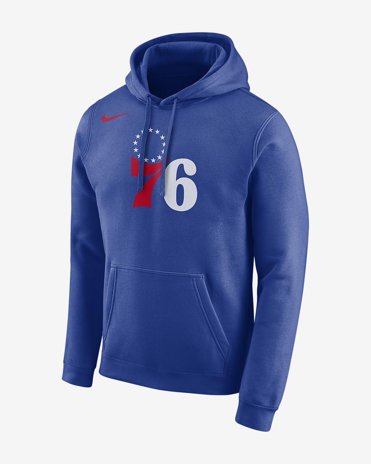 c6e439e144 Philadelphia 76ers Nike Men's Logo NBA Hoodie