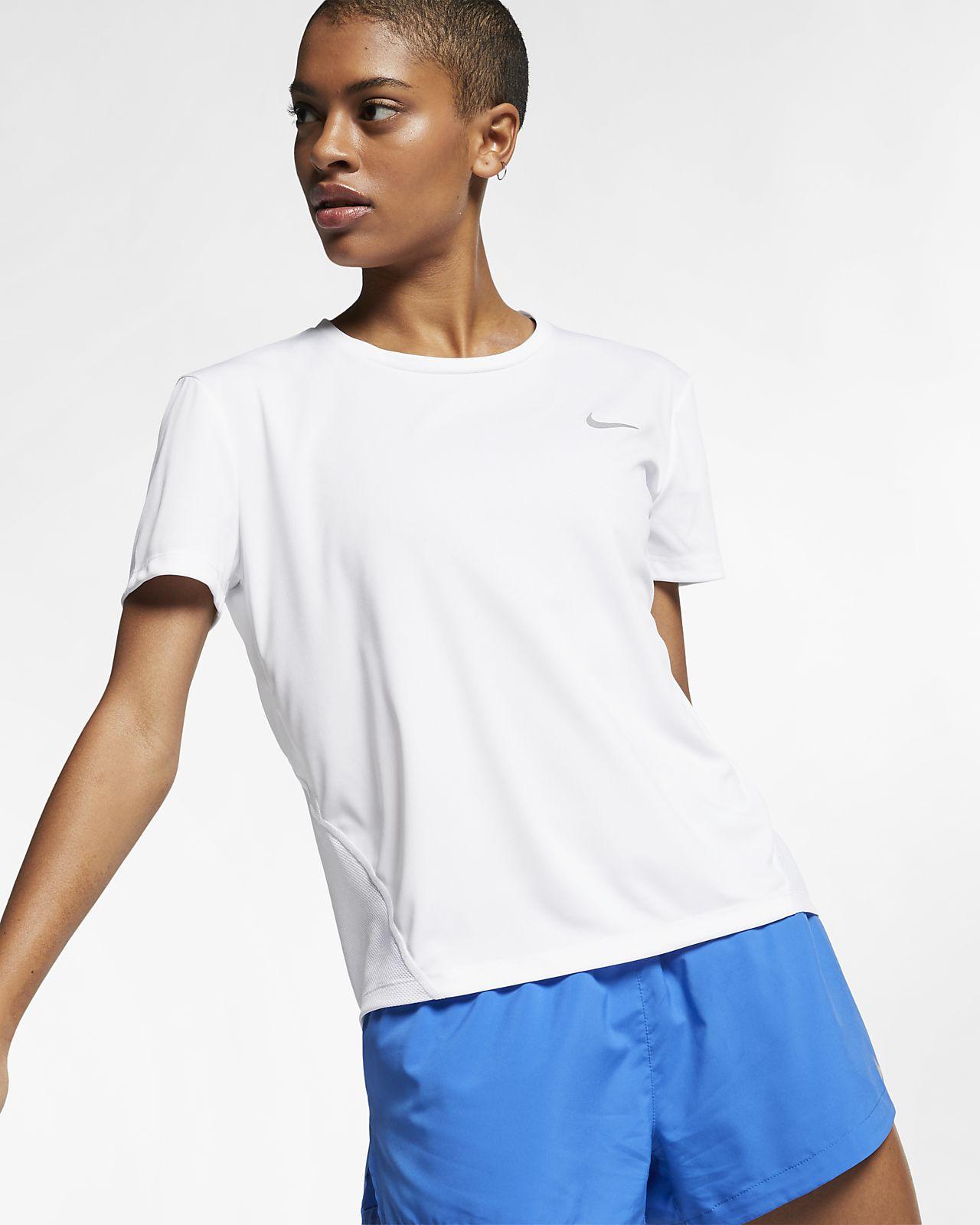 Nike Miler Camiseta de running de manga corta - Mujer