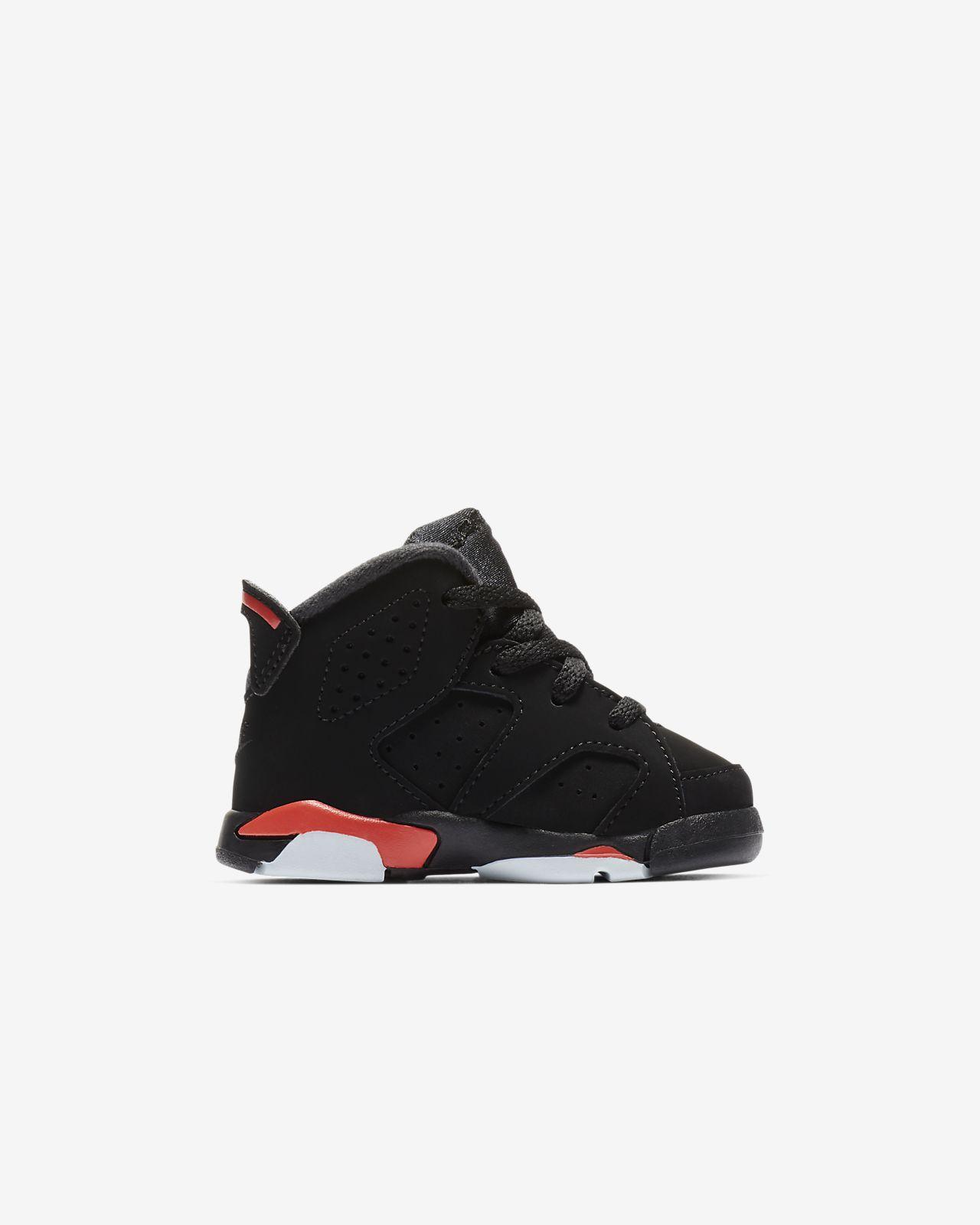c826e4915d66b Air Jordan Retro 6 Baby  amp  Toddler Shoe (1.5–9.5). Nike.com IN