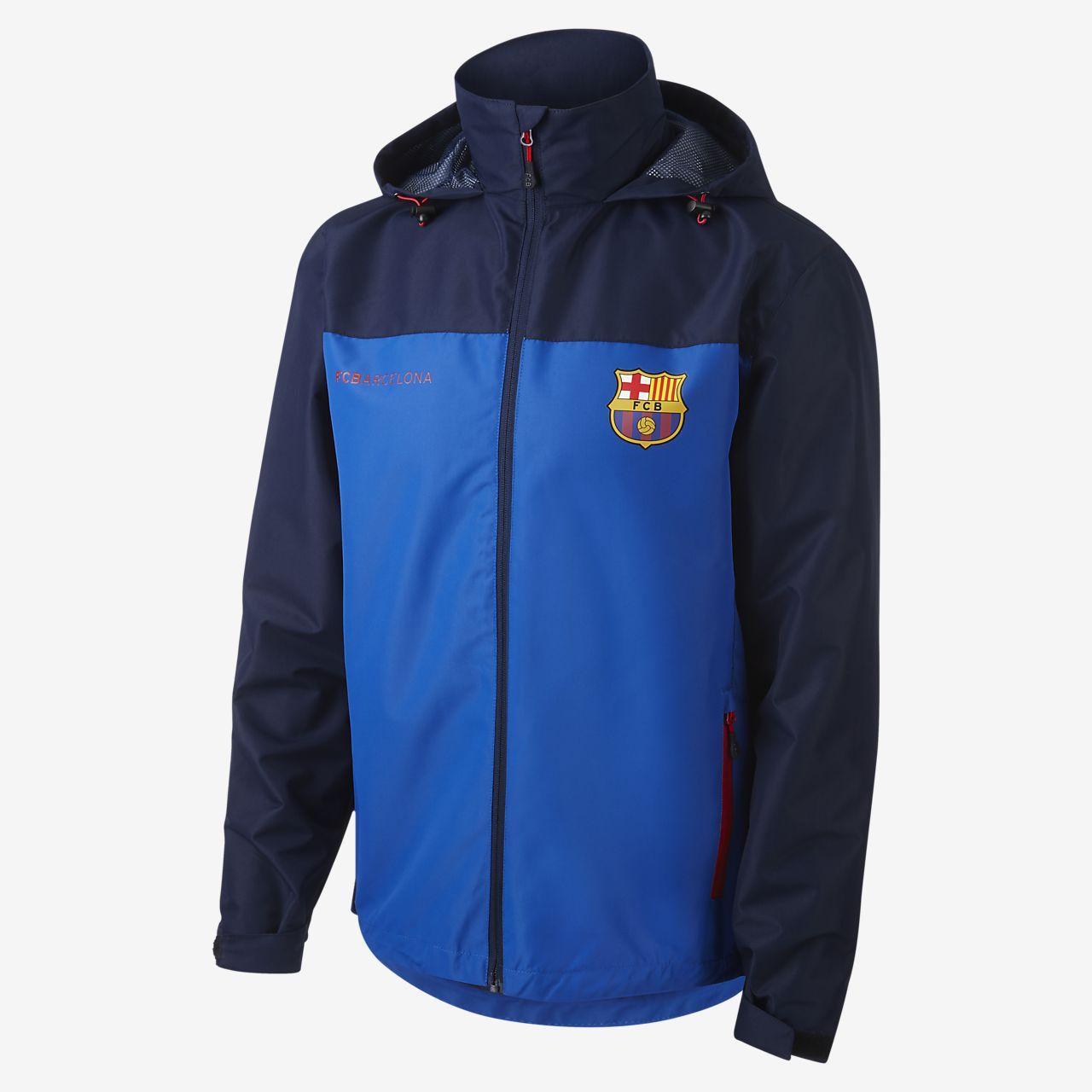 86a703e388faa Aktivní pánská bunda FC Barcelona. Nike.com CZ